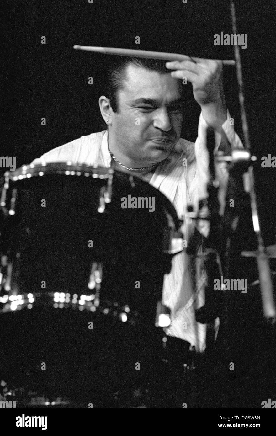 Drummer-Bob-Harrison-performing-live-in-