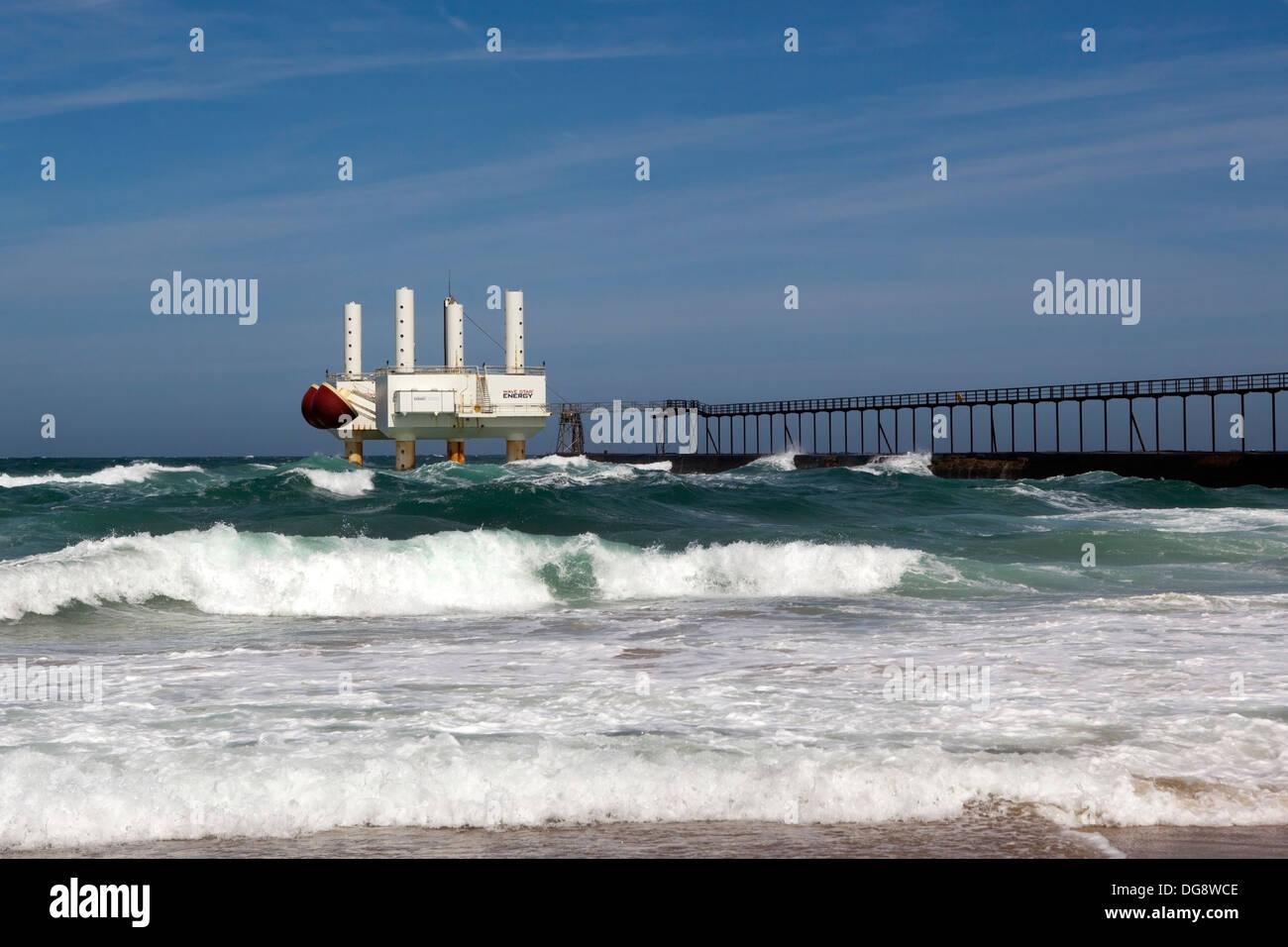 wave energy machine