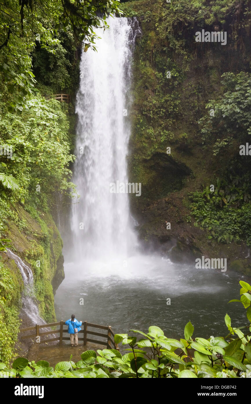 Costa Rica Alajuela Vara Blanca La Paz Waterfalls Garden White Stock Photo Royalty Free Image