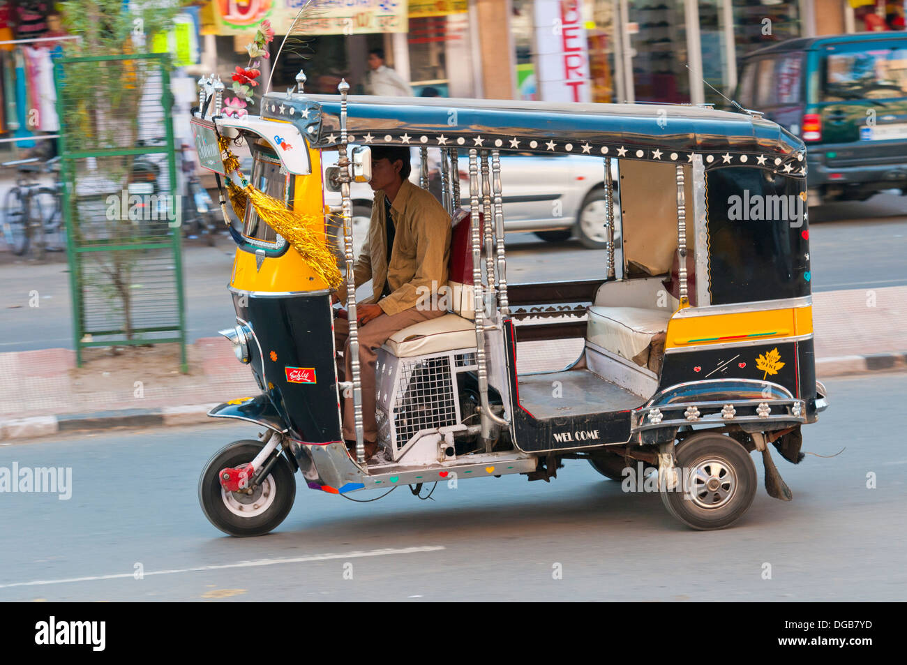 tuk tuk auto rickshaw jodhpur rajasthan india asia stock photo royalty free image 61713329. Black Bedroom Furniture Sets. Home Design Ideas