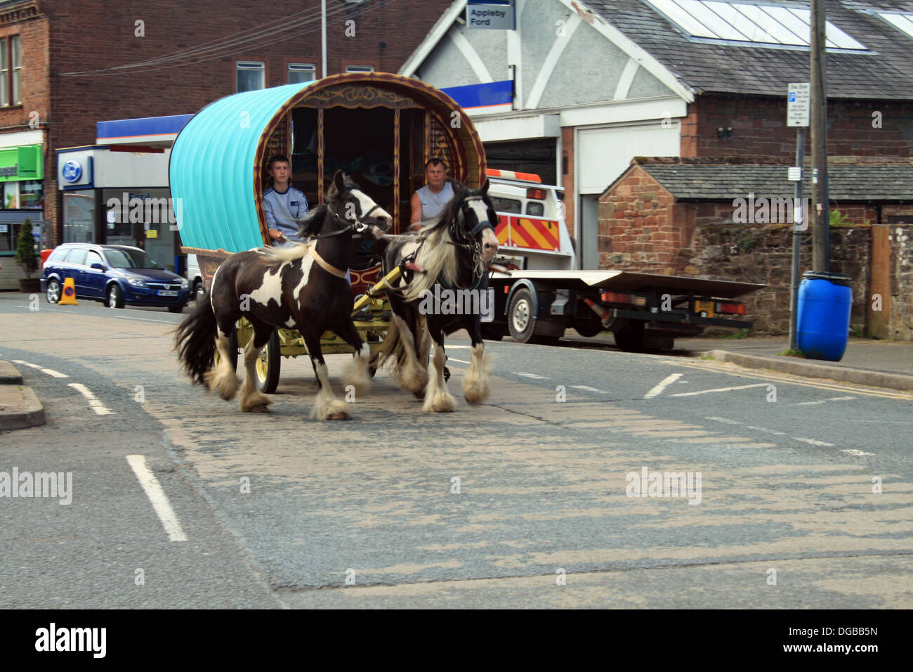 Gypsies Gather For Appleby Horse Fair Stock Photo | Getty Images