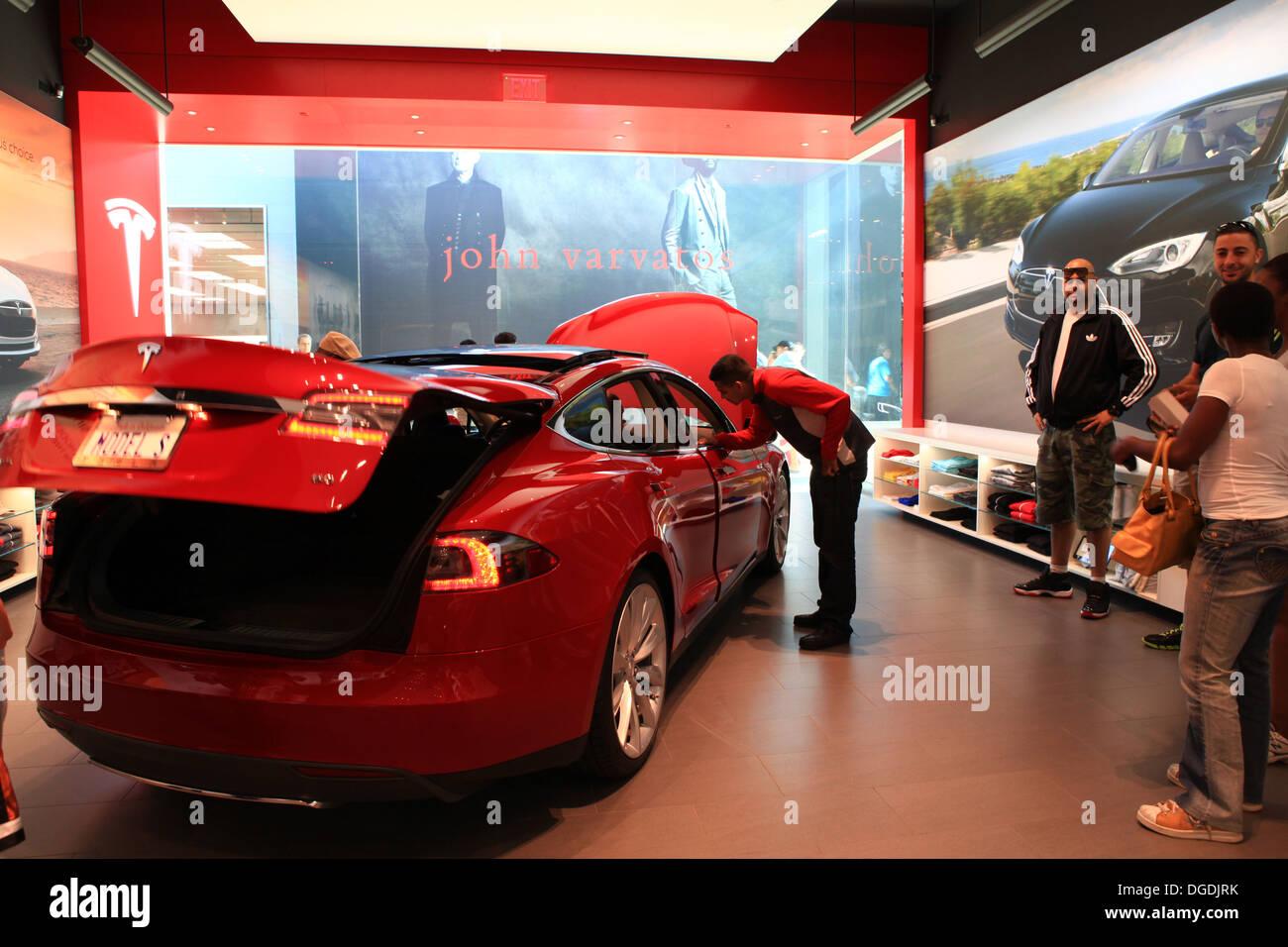 Tesla Car Show Room Toronto