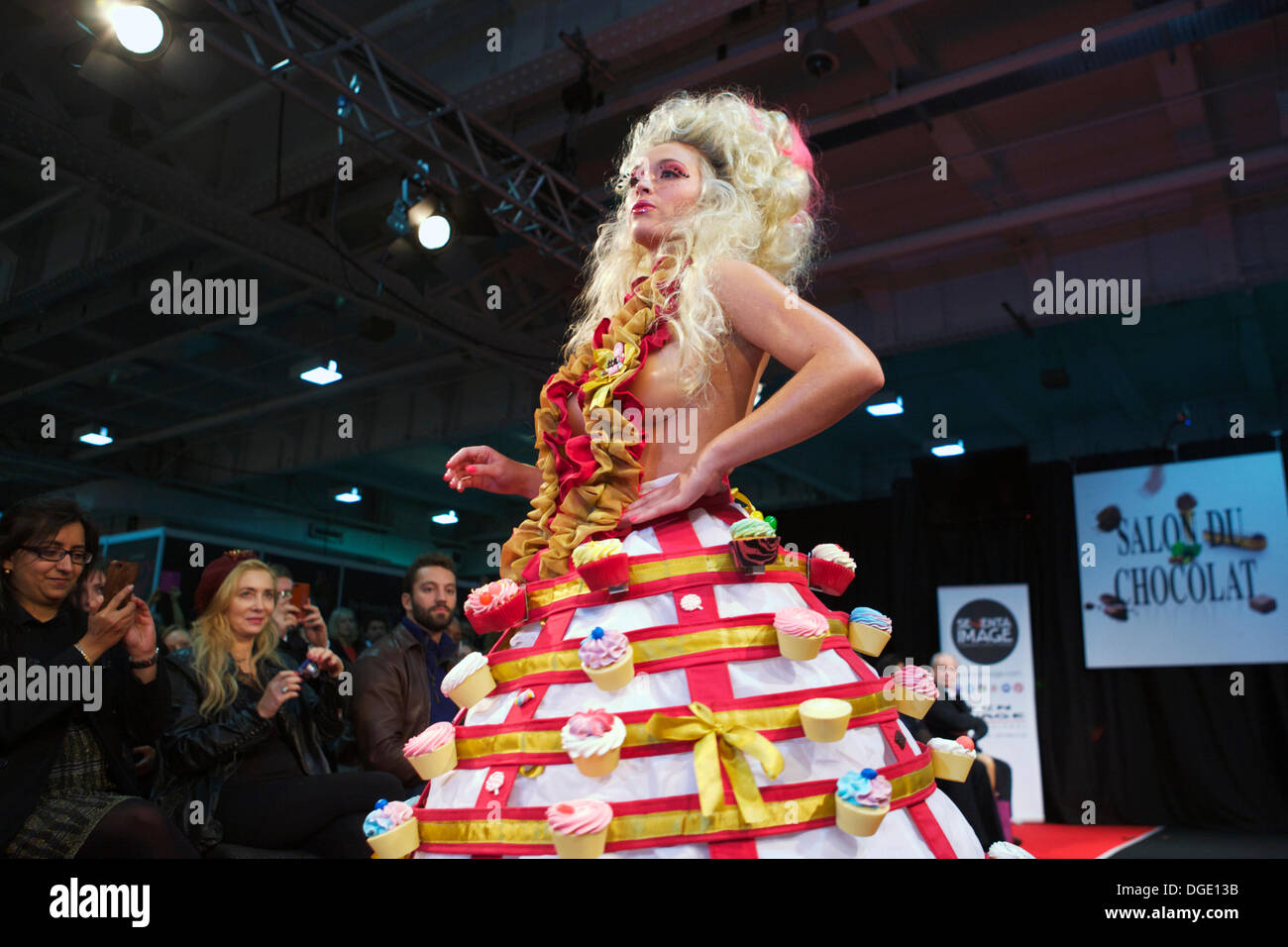 Chocolate Fashion Show Stock Photos & Chocolate Fashion Show Stock ...