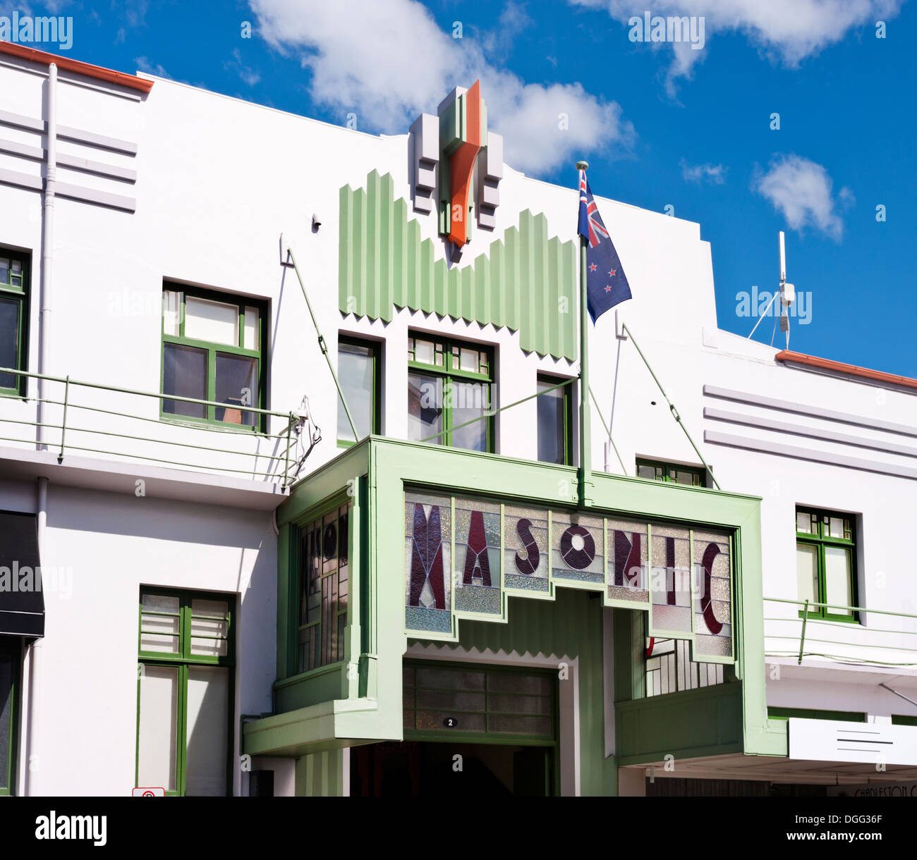 napier new zealand the art deco masonic hotel built