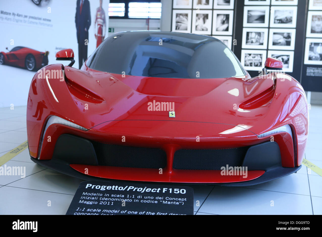 Ferrari one of the first design concepts for the f150 project ferrari one of the first design concepts for the f150 project code named manta vanachro Gallery
