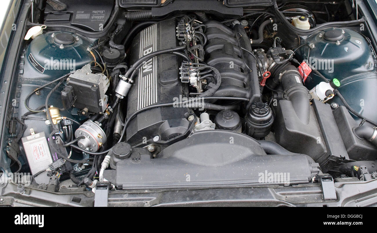 LPG System STAG Plus In A Car Of The BMW Series Model E - 300 bmw