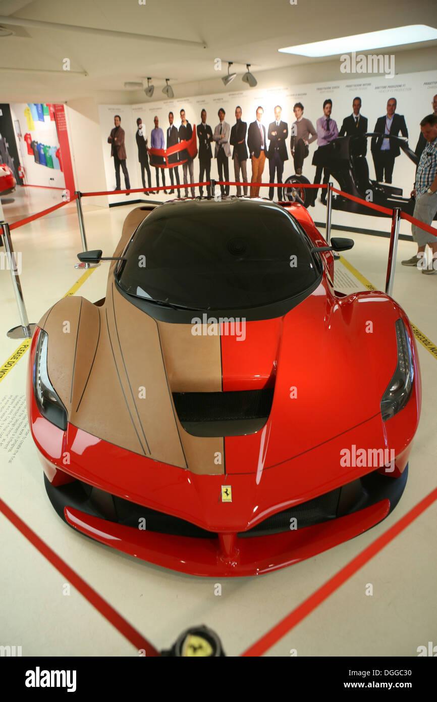 Ferrari f150 stock photos ferrari f150 stock images alamy ferrari f150 1 to 1 scale model in clay stock image vanachro Gallery