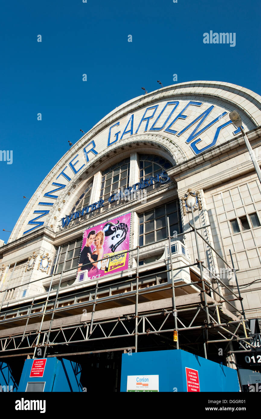 blackpool winter gardens theatre venue theater stock photo