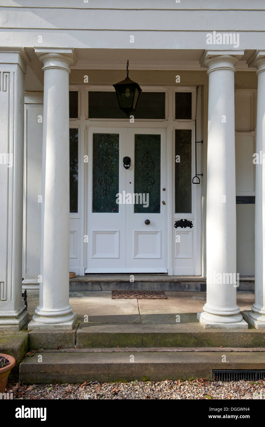 Front Door Columns Part - 17: House Front Door Grand Columns Corinthian Fake