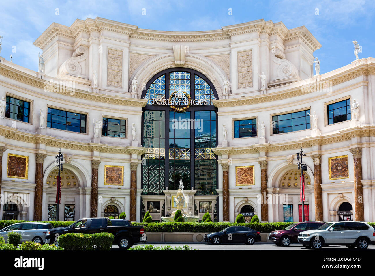 the forum shops at caesars attached to caesars palace casino las stock photo royalty free. Black Bedroom Furniture Sets. Home Design Ideas