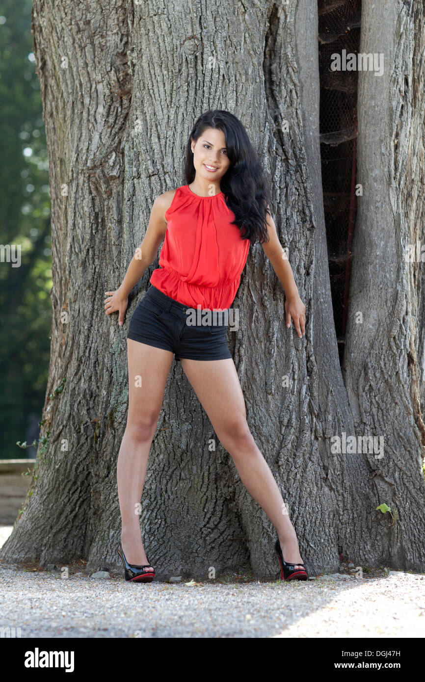 Black long haired mature smoking very sexy naked 9