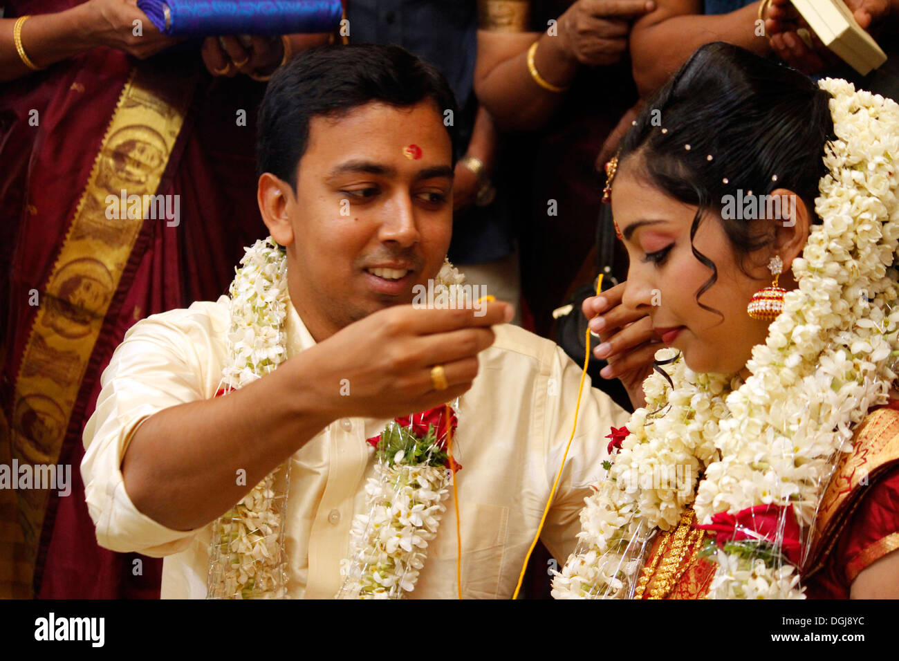 A Hindu Wedding Ceremony In IndiaTying The Knot