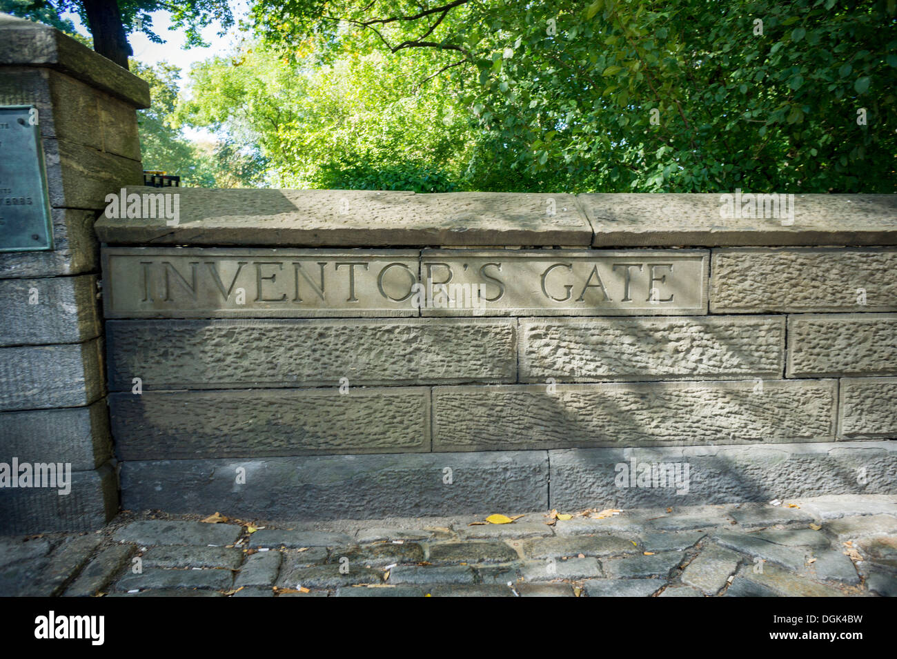 The Inventors Gate At The East Nd Street Entrance To Central - Central park on east 72nd street