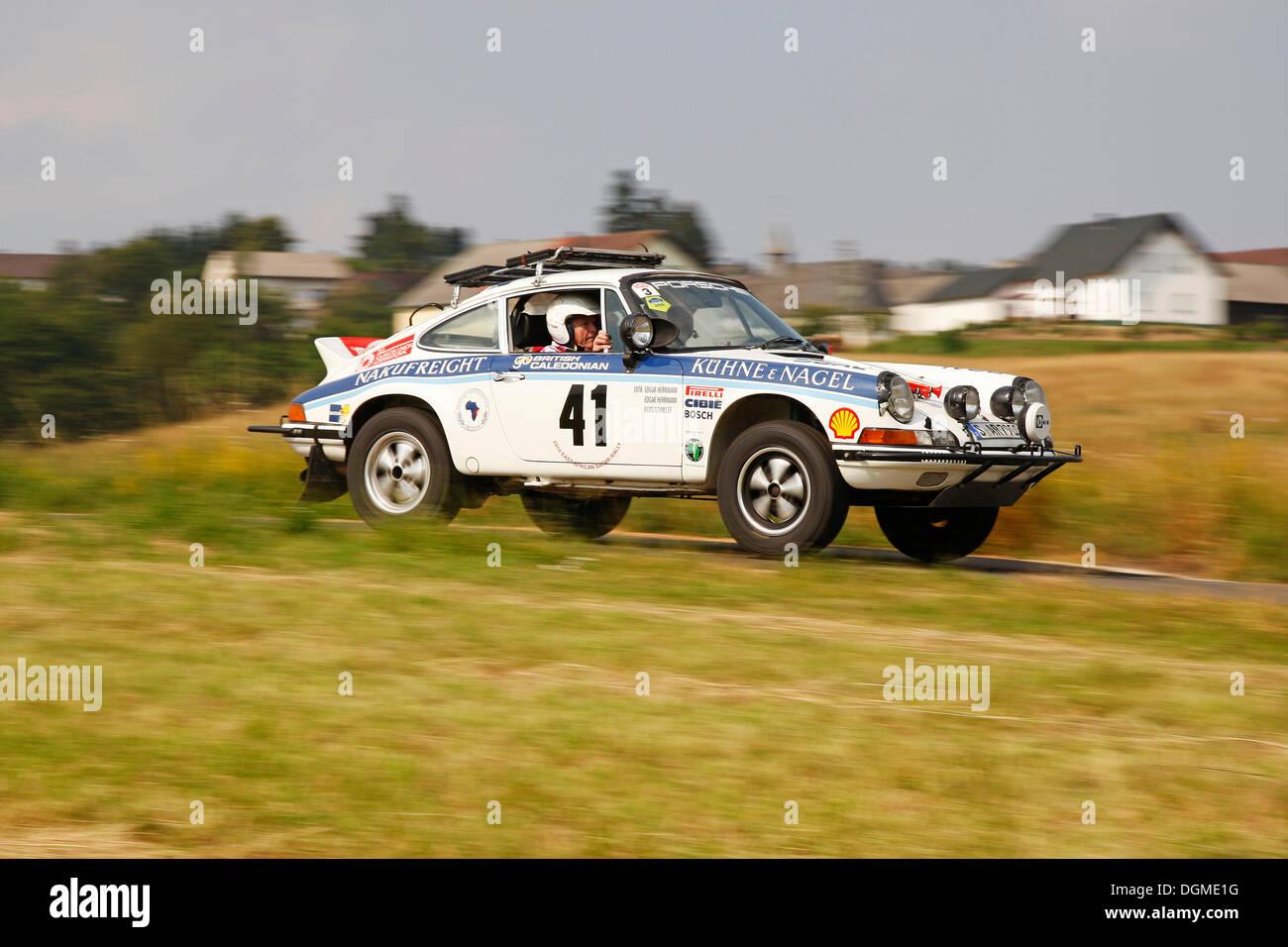 Vintage Car Eifel Rally 2012, Porsche 911 RS, built in 1974, used ...