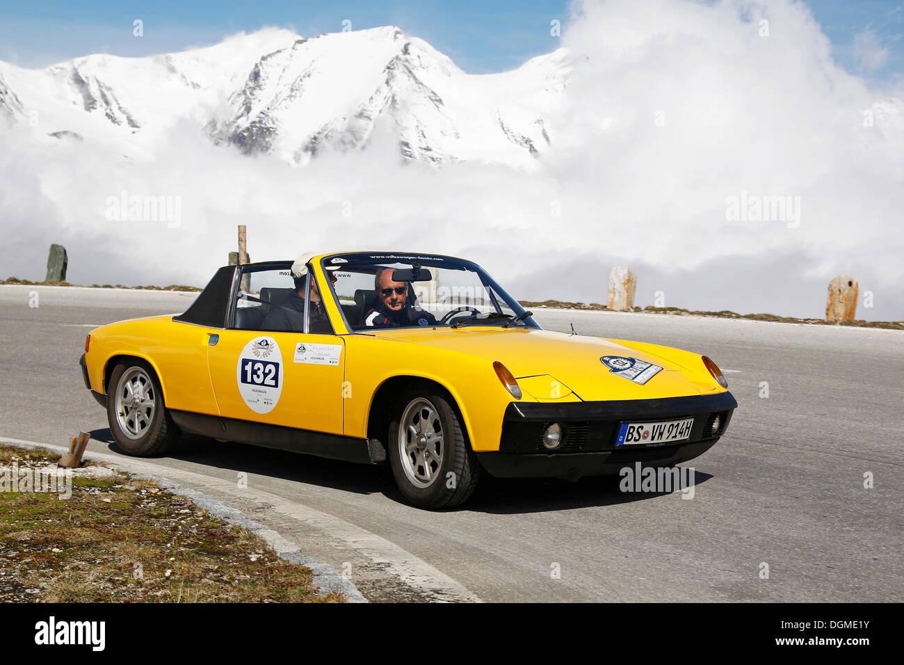 Vintage Car Rally, Kitzbuehel Alpine Rally 2012, Grossglockner ...