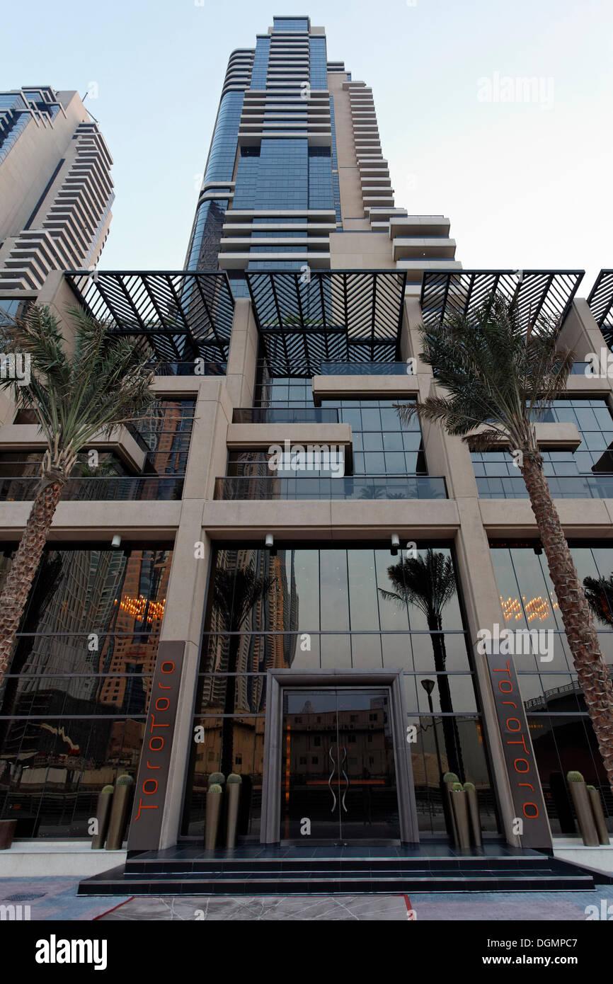 Toro toro restaurant in the luxury hotel grosvenor house for Luxury hotels in dubai marina
