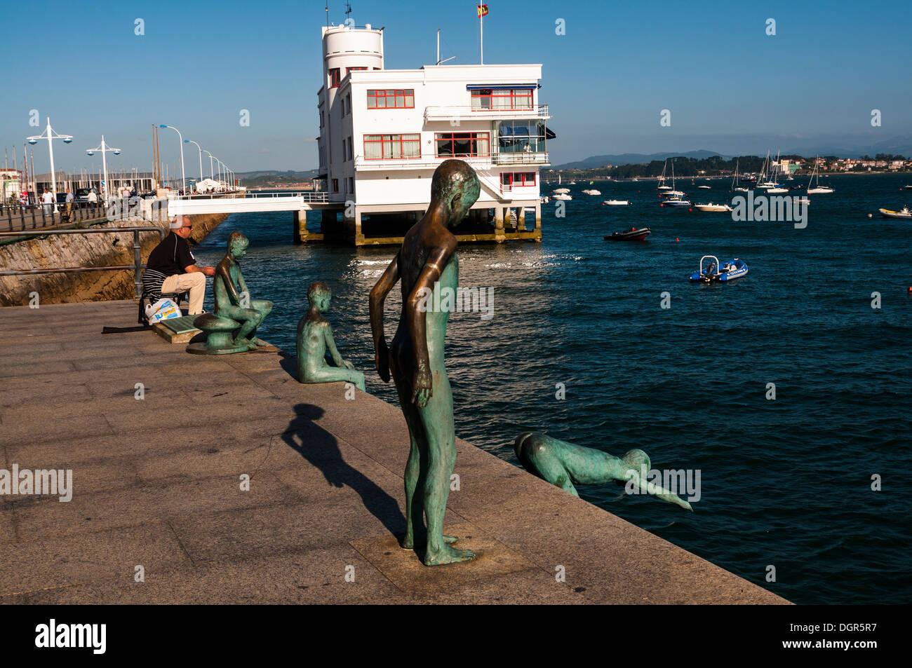 Monumento a los raqueros de jos cobo calder n puerto de - Be up santander ...