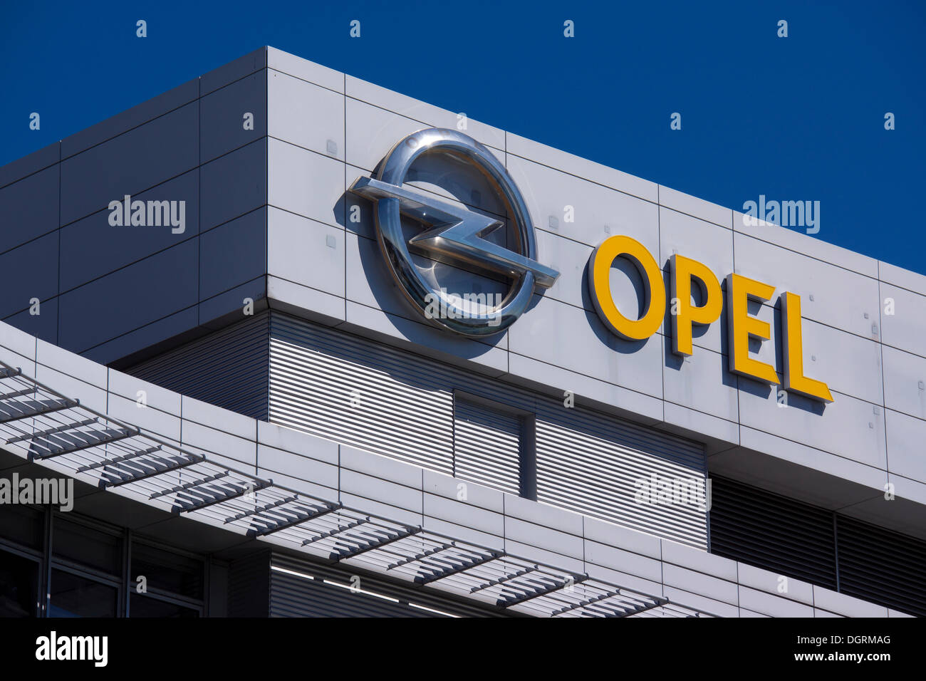 adam opel haus headquarters of the adam opel ag ruesselsheim stock photo royalty free image. Black Bedroom Furniture Sets. Home Design Ideas