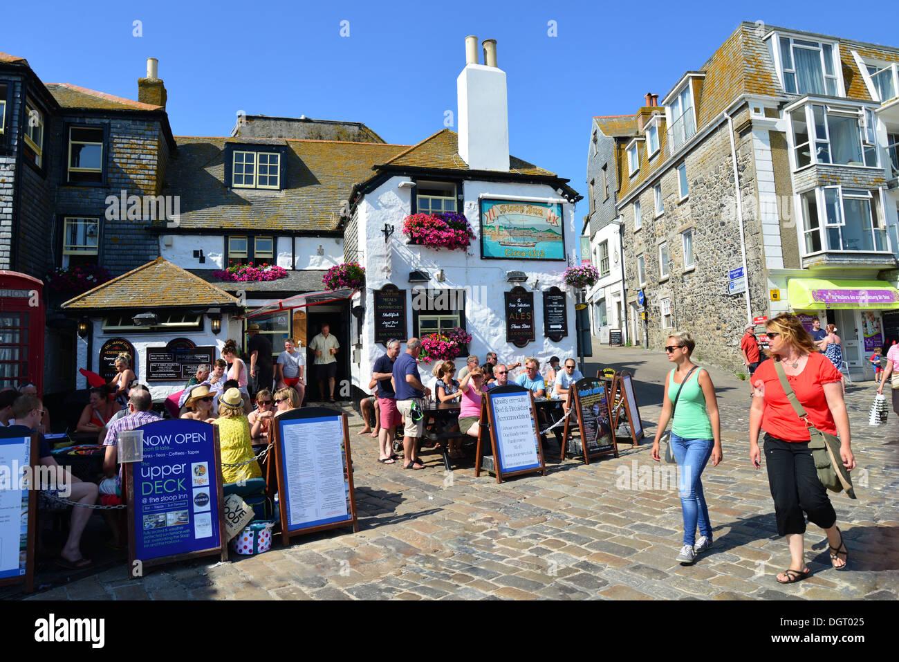Saint Ives (Cornwall) United Kingdom  City pictures : ... Sloop Inn, Back Lane, St Ives, Cornwall, England, United Kingdom