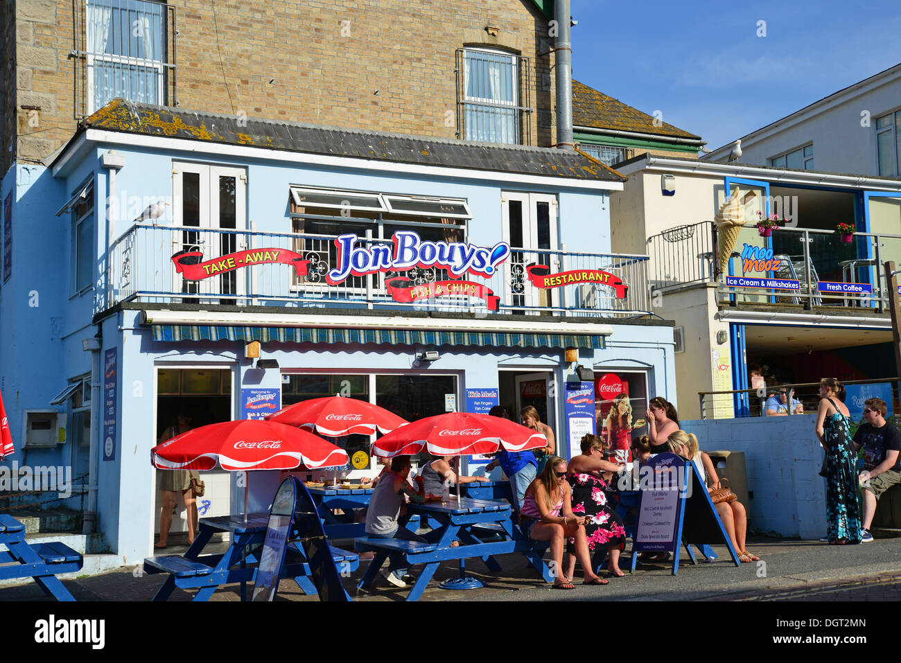 Fish And Chips Restaurant Newquay