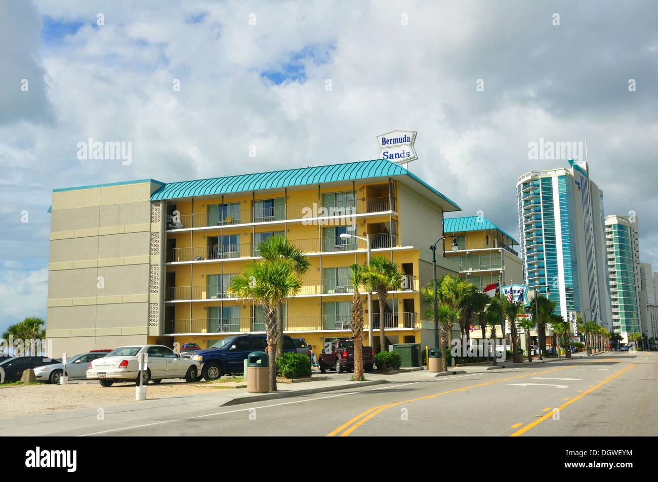 Bermuda Sands Beach Hotel Myrtle South Carolina USA