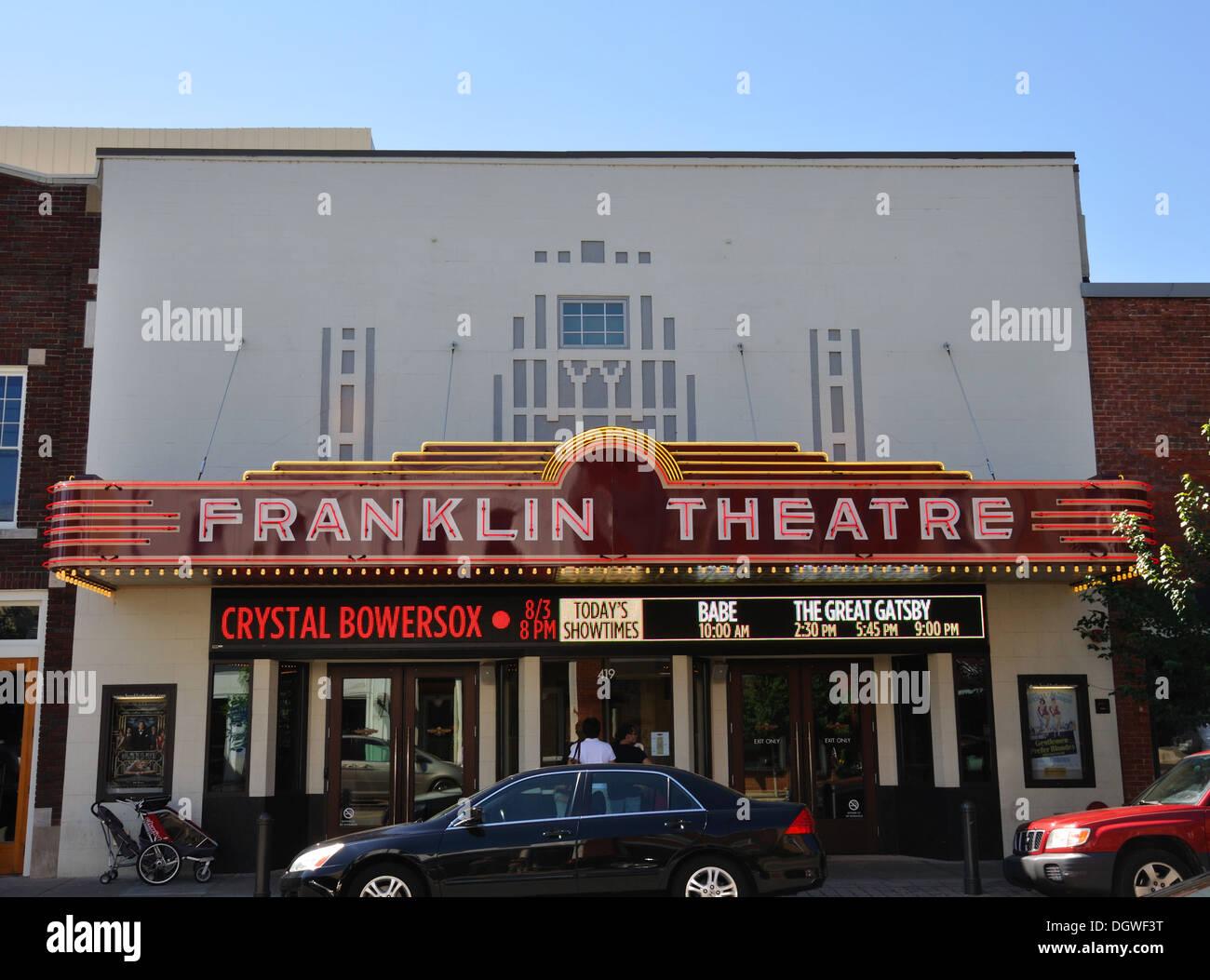 Movie theatre in franklin
