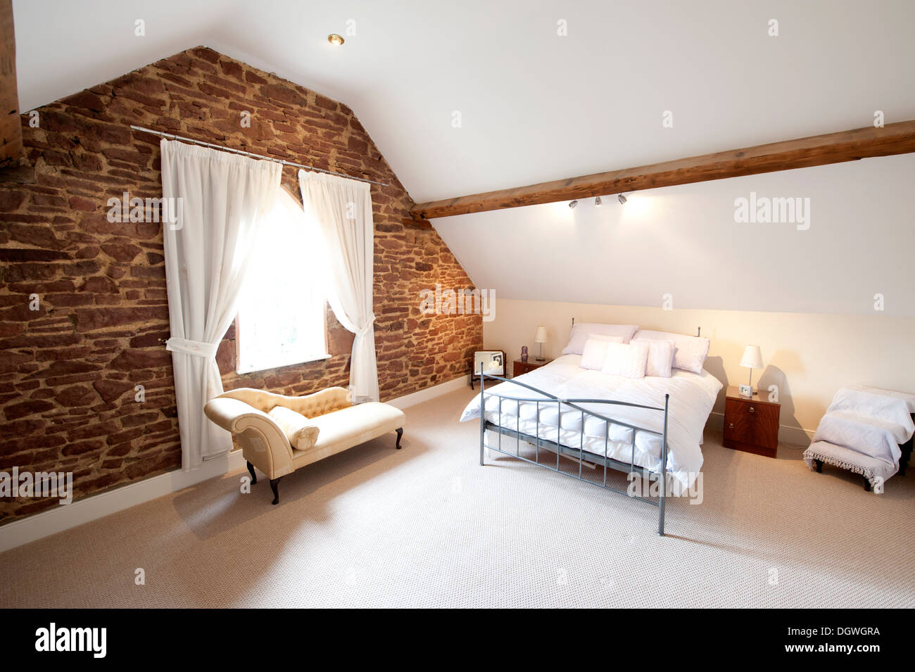 Attic Bedroom Attic Bedroom Stock Photos Attic Bedroom Stock Images Alamy