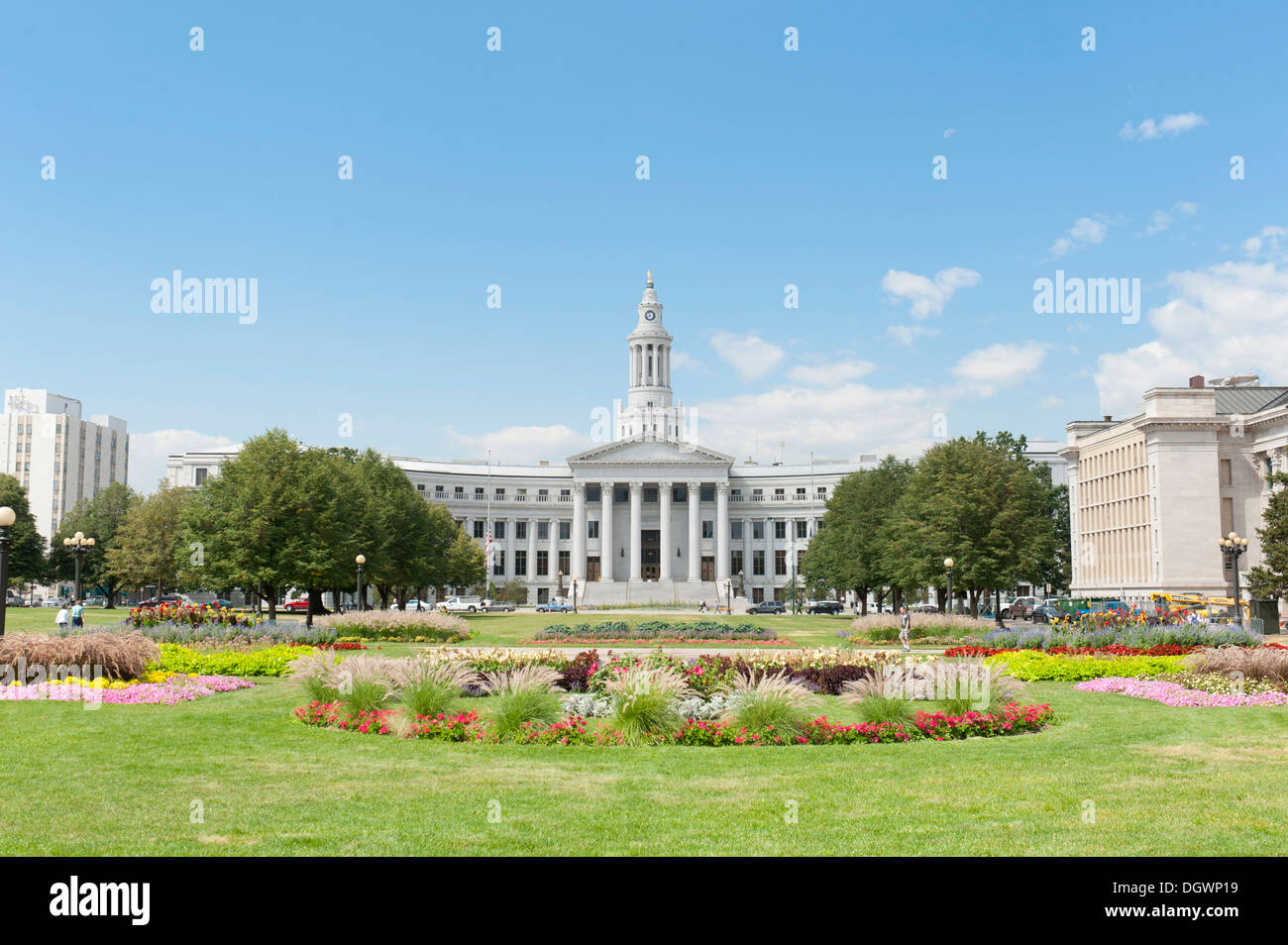 denver city hall and county building garden and park