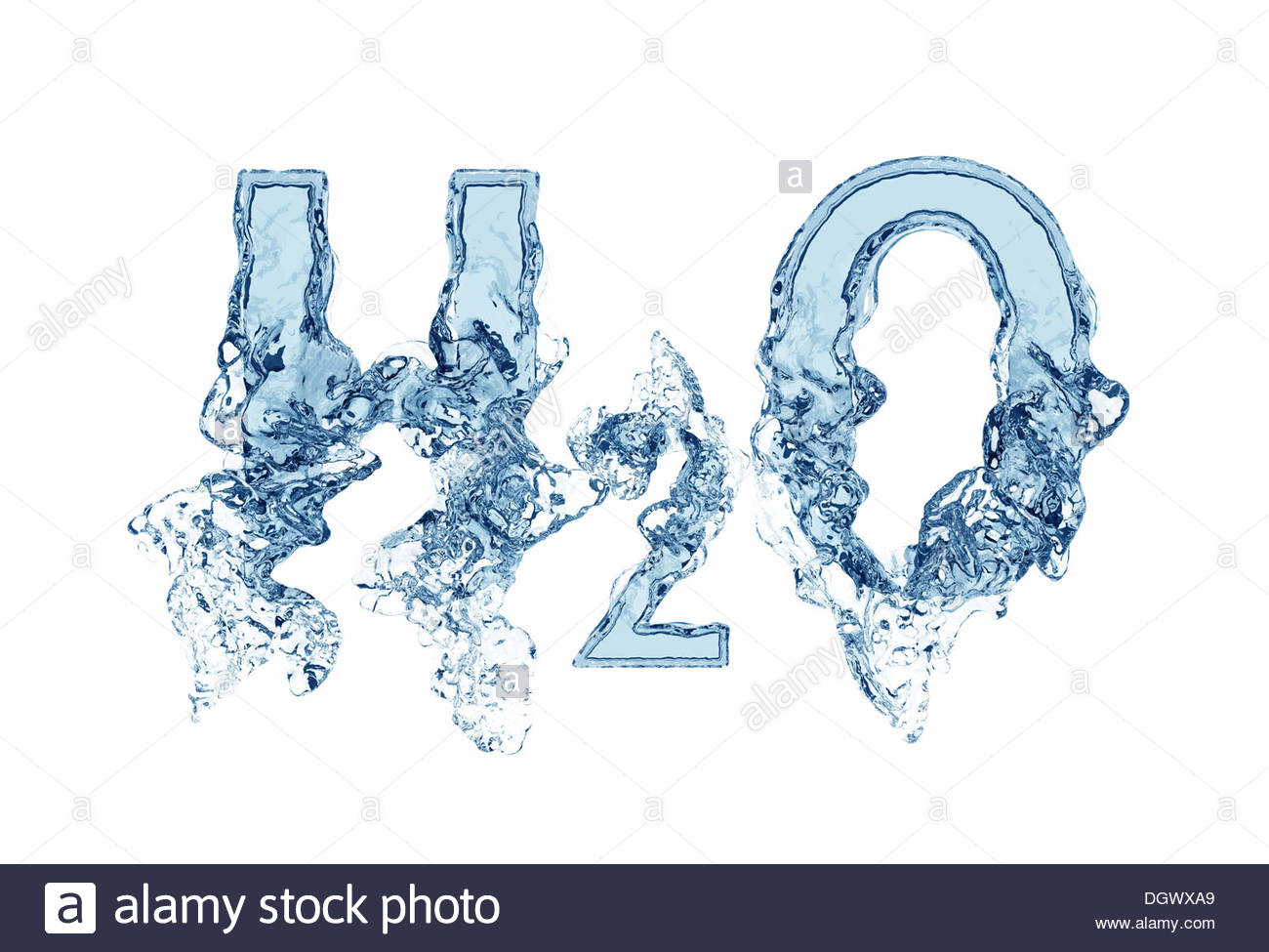 """water h2o Forward osmosis is a """"green"""" technology that uses a semi-permeable membrane to separate water."""
