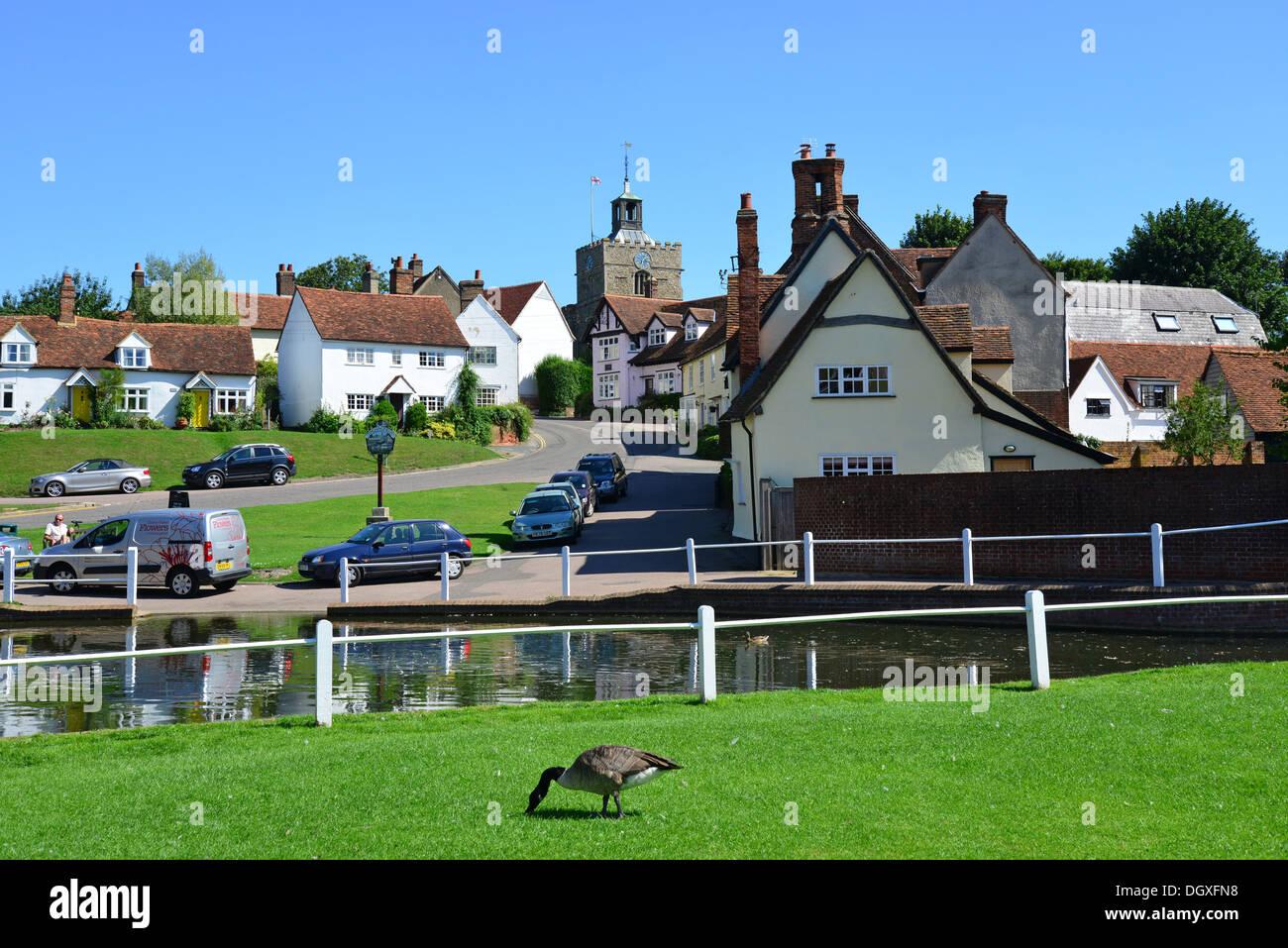 Essex United Kingdom  City pictures : Village Green And Pond, Finchingfield, Essex, England, United Kingdom ...