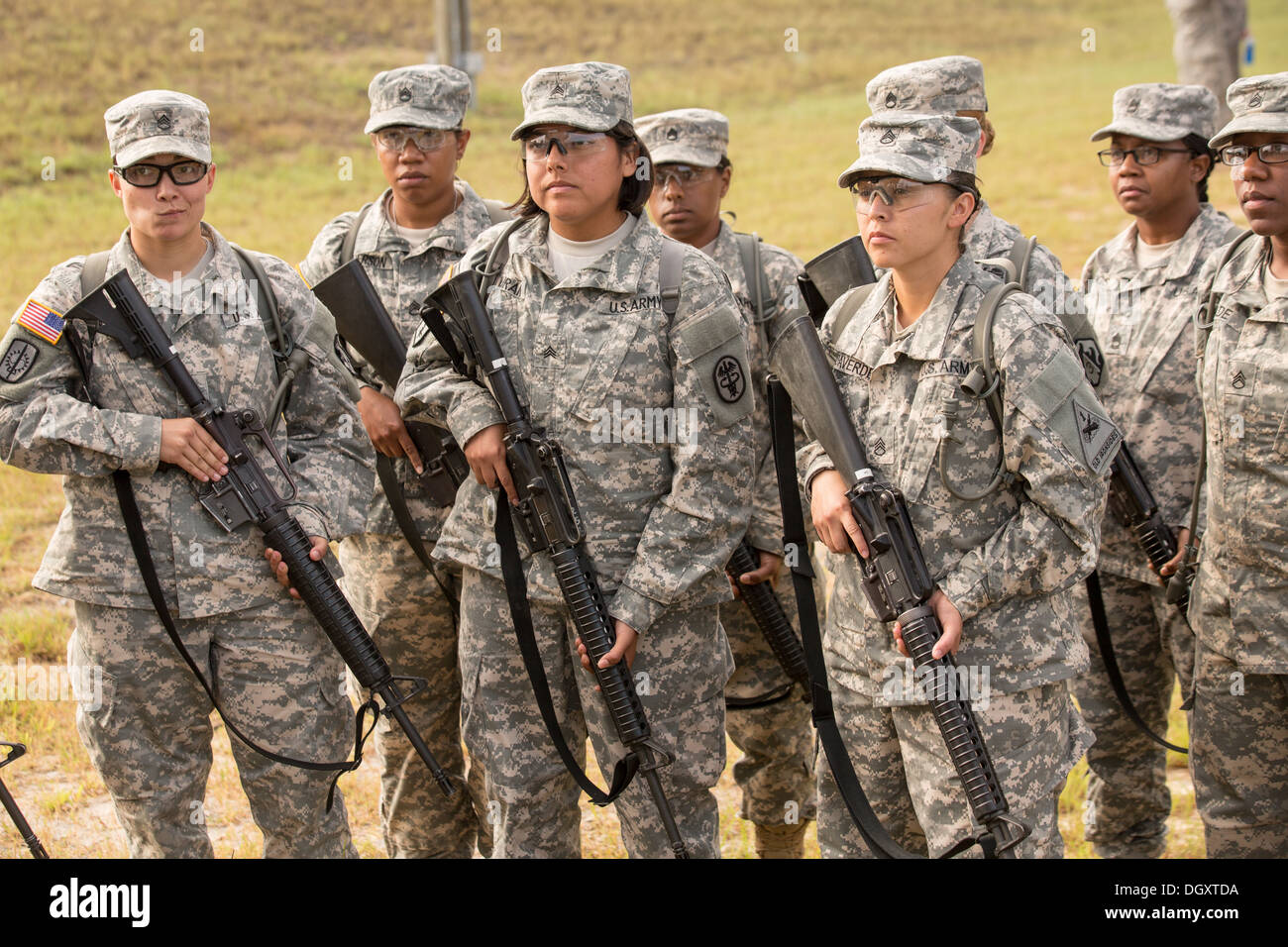 Women Drill Sergeant Candidates At The Us Army Drill Instructors ...