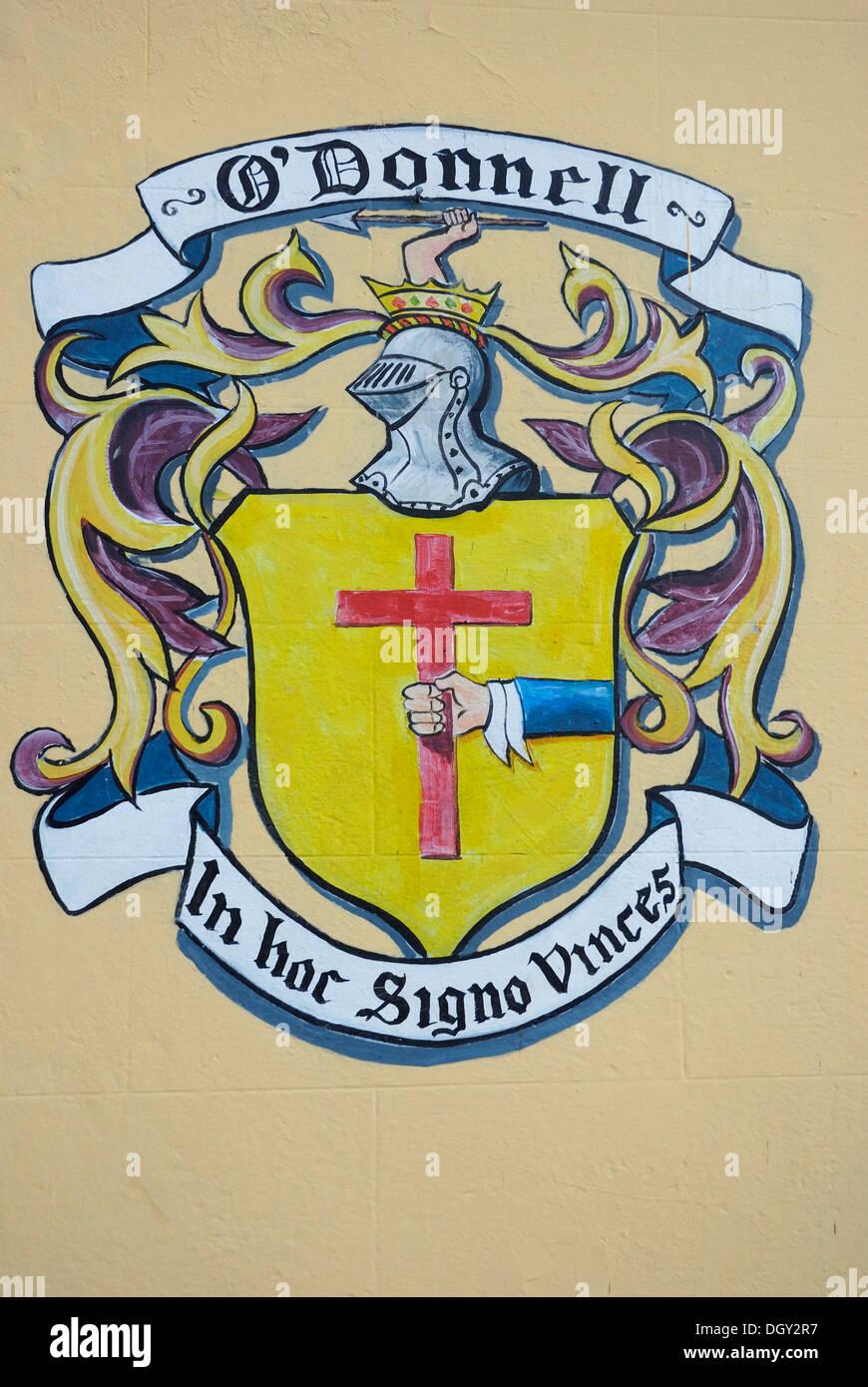 Irish coat of arms stock photos irish coat of arms stock images coat of arms of the odonnell family on a house wall ratmelton buycottarizona Images