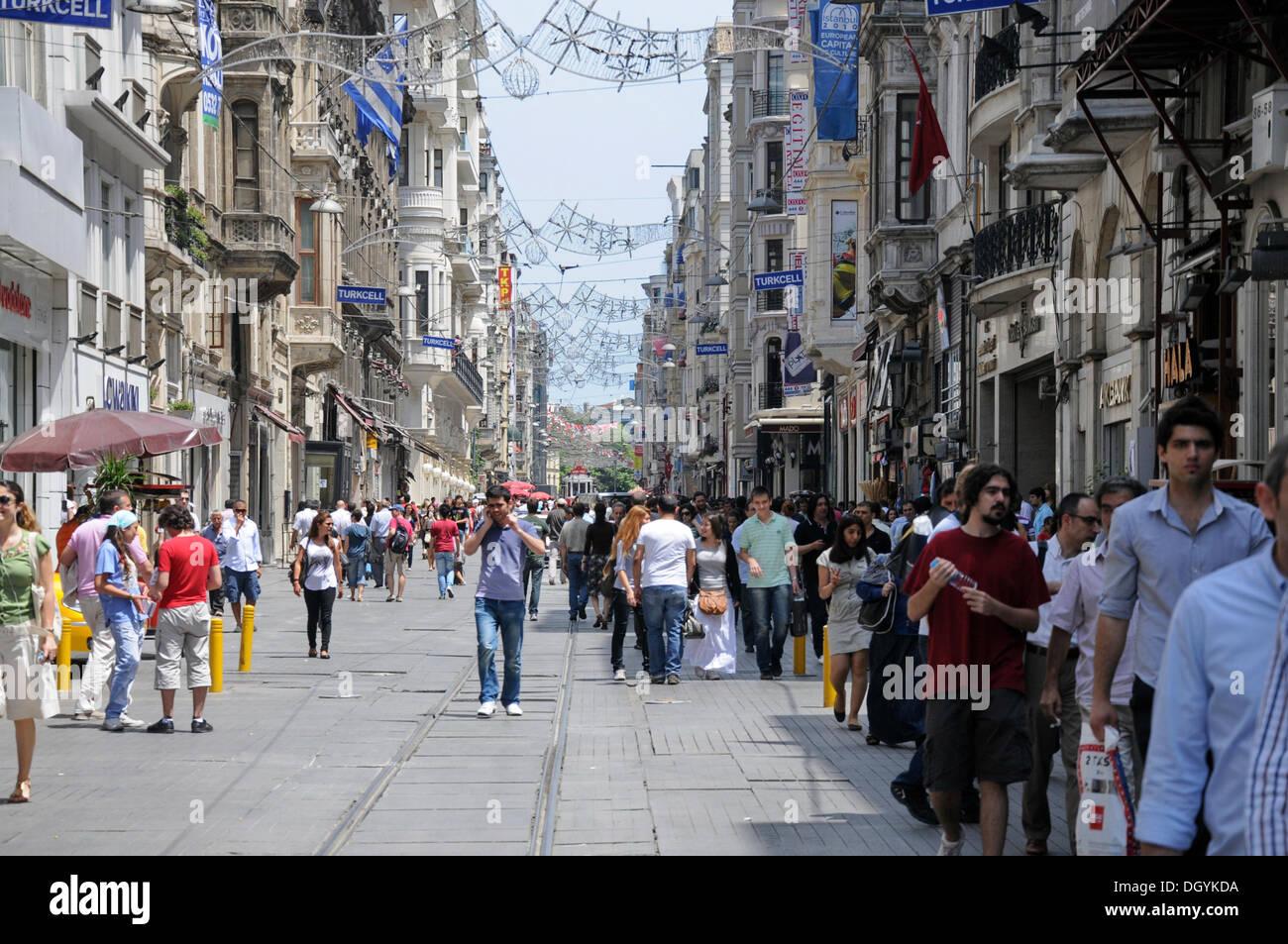 C A Turkey Istanbul Pedestrian street, Ist...