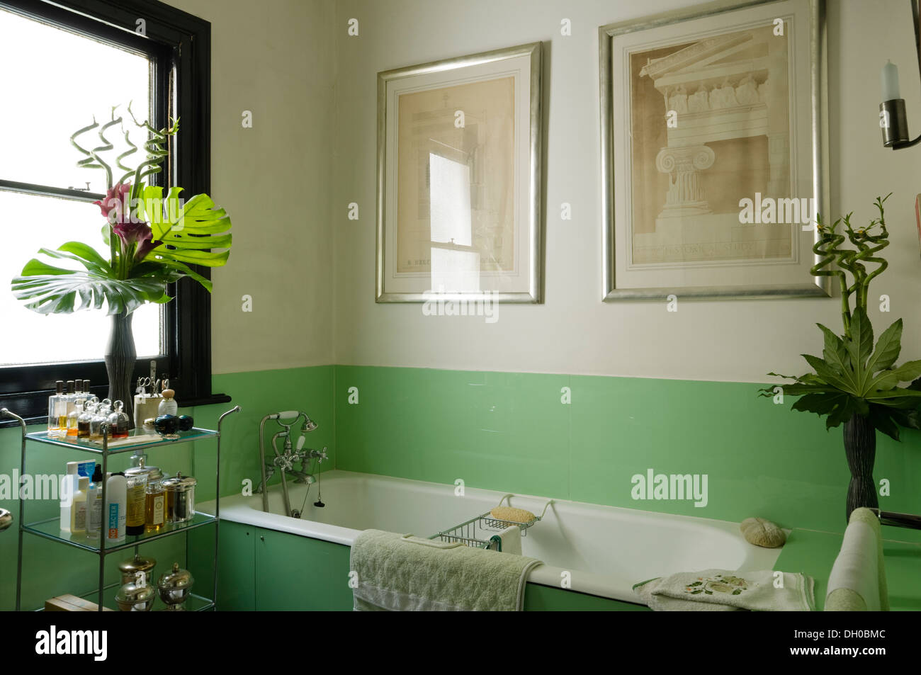 1930s Bathroom 1930s Bathroom Fittings With Green Glass Bath Panel And