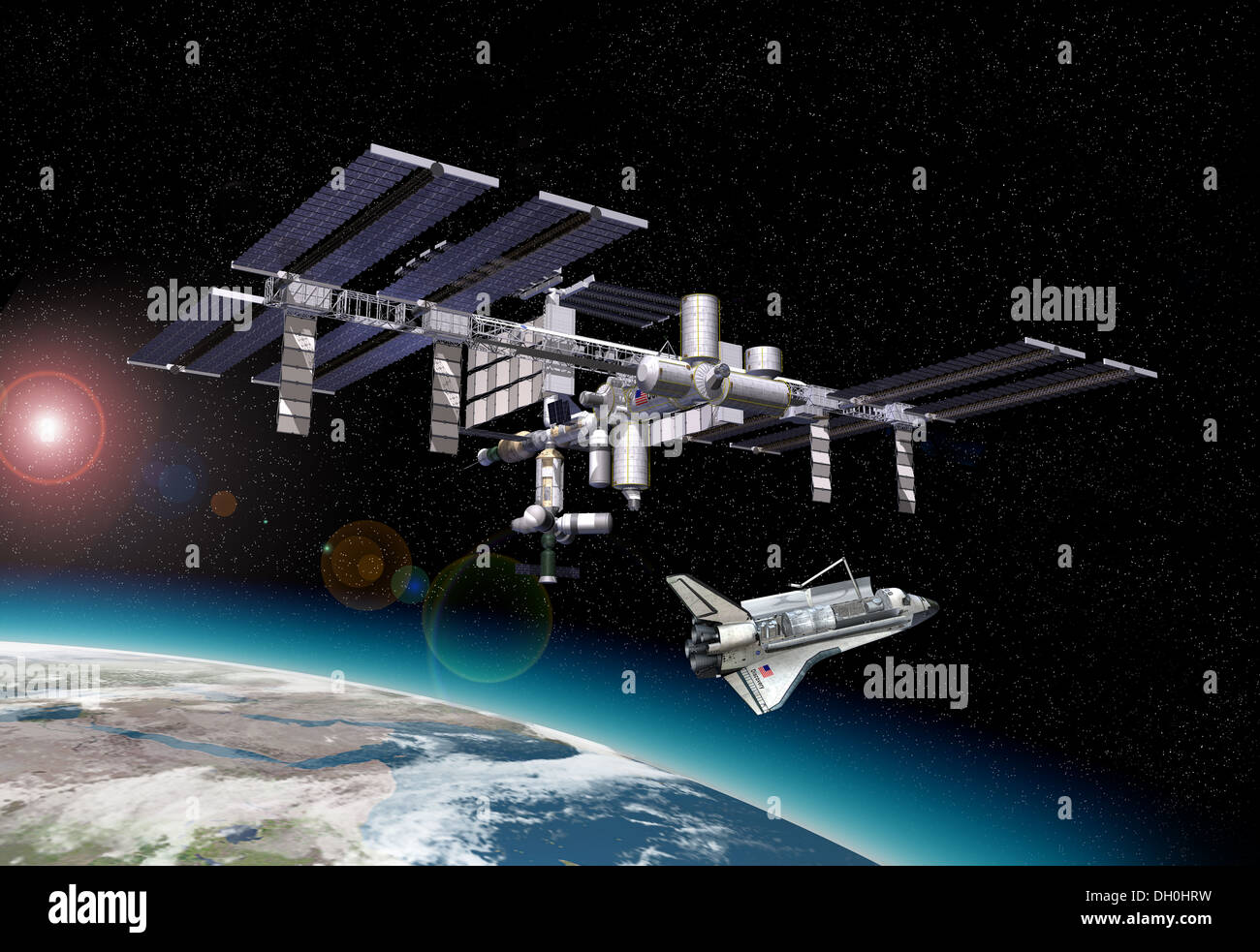 international space station from earth to current transportation - photo #16