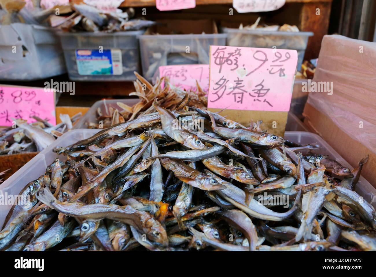 Dried fish chinatown market san francisco california for San francisco fish market