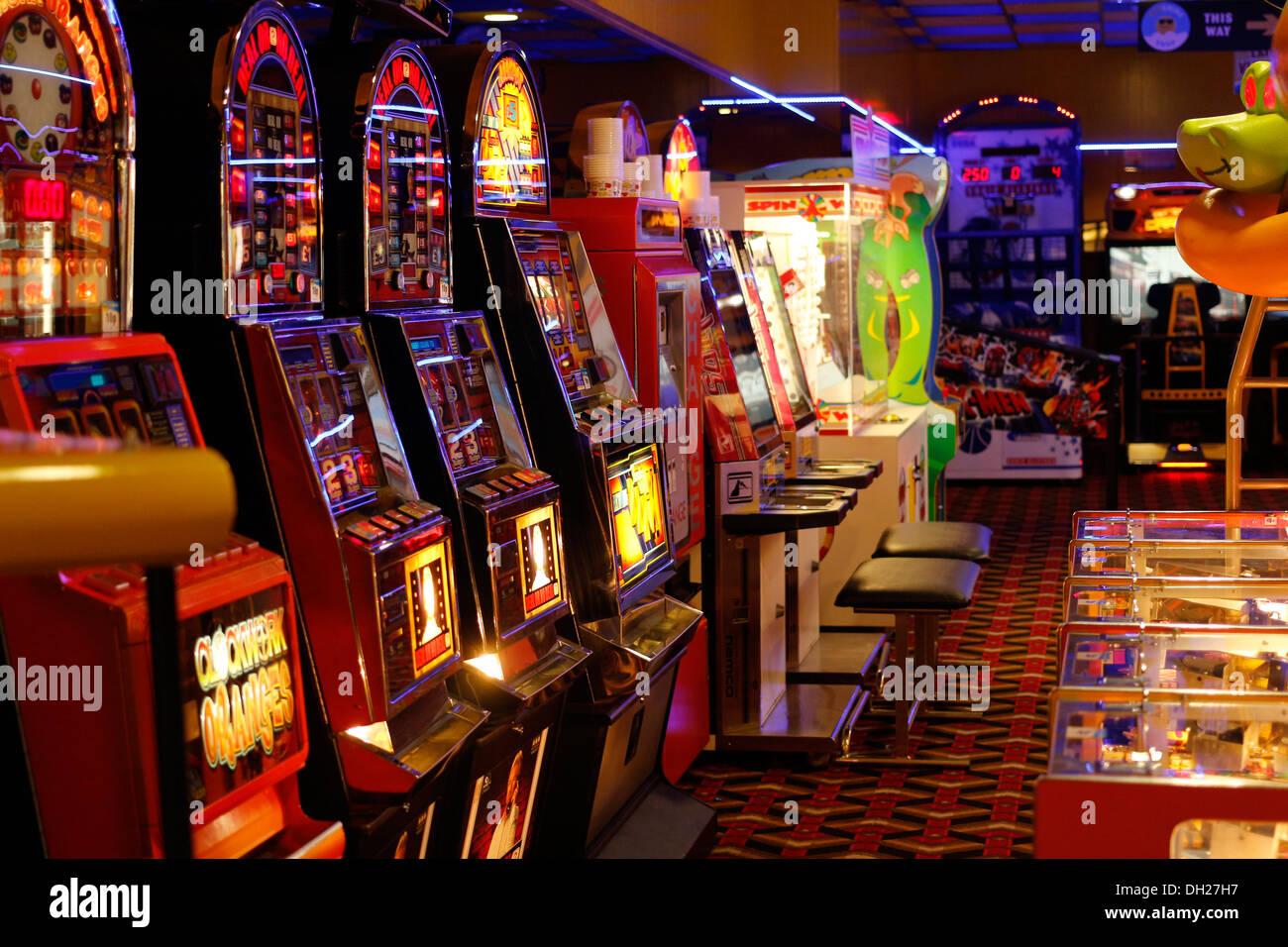 Gambling arcades gambling a sport
