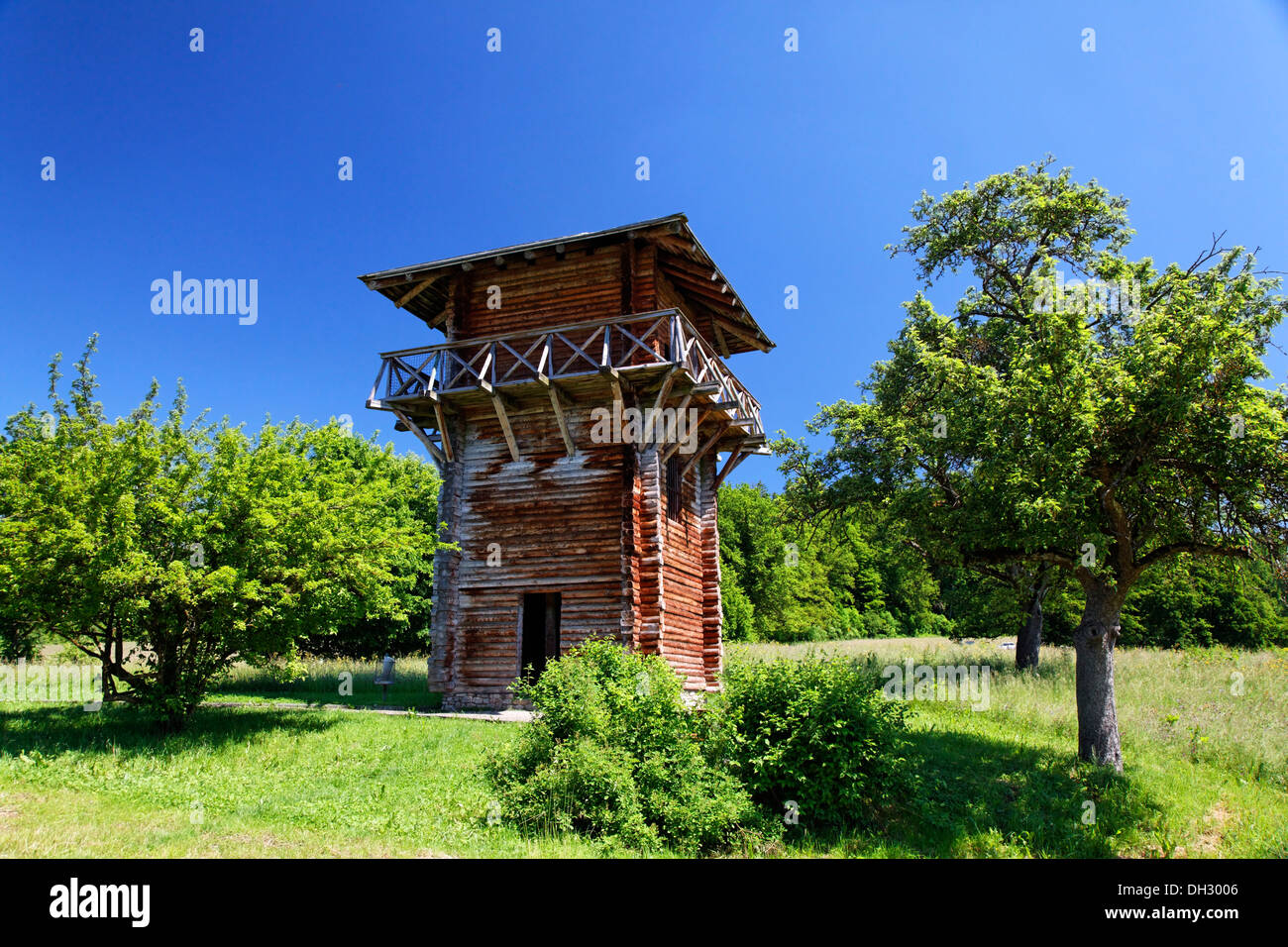 germany baden wuerttemberg lorch upper germanic limes unesco stock photo royalty free image. Black Bedroom Furniture Sets. Home Design Ideas