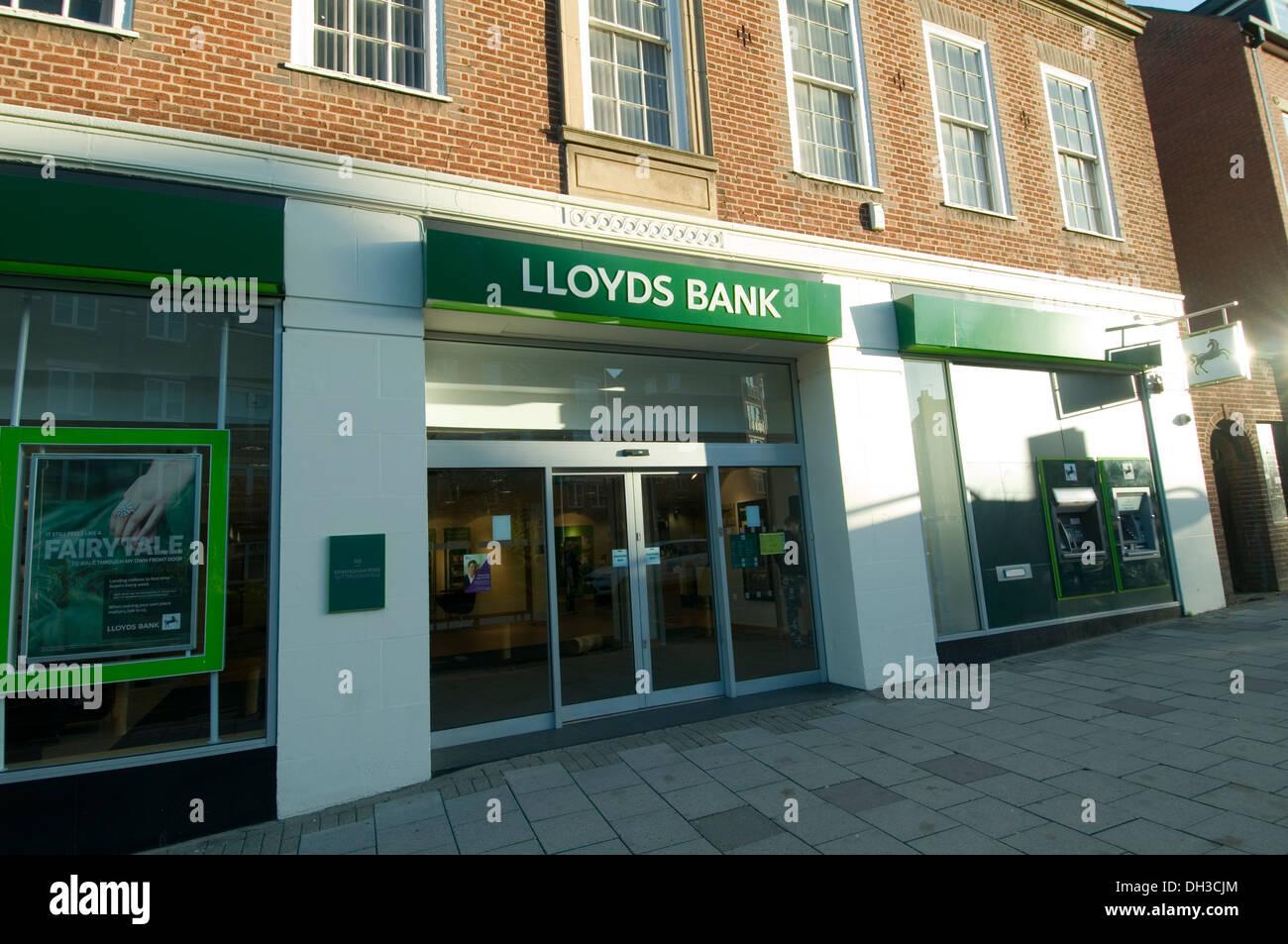 Lloyds Bank Branch In Sutton Coldfield New Modern Revamped Modern Branches  Banks High Street Highstreet Uk