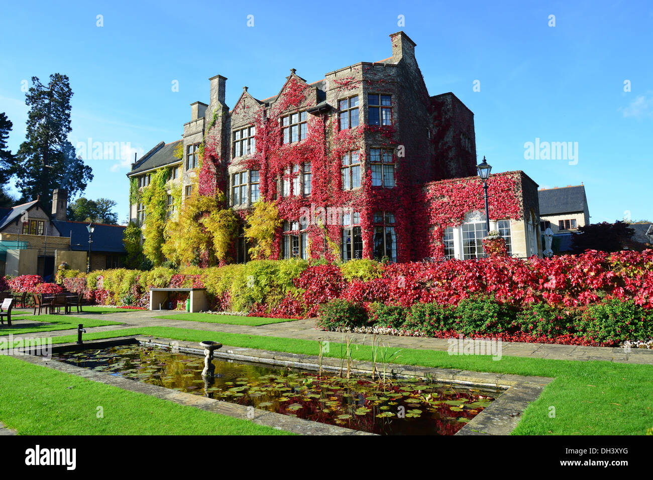 Pennyhill Park Hotel In Autumn London Rd Bagshot Surrey