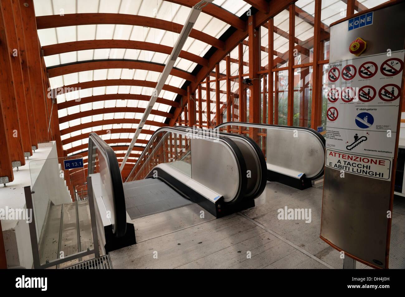 italy, basilicata, potenza, the new system of escalators and stock ... - Mobili E Mobili Potenza