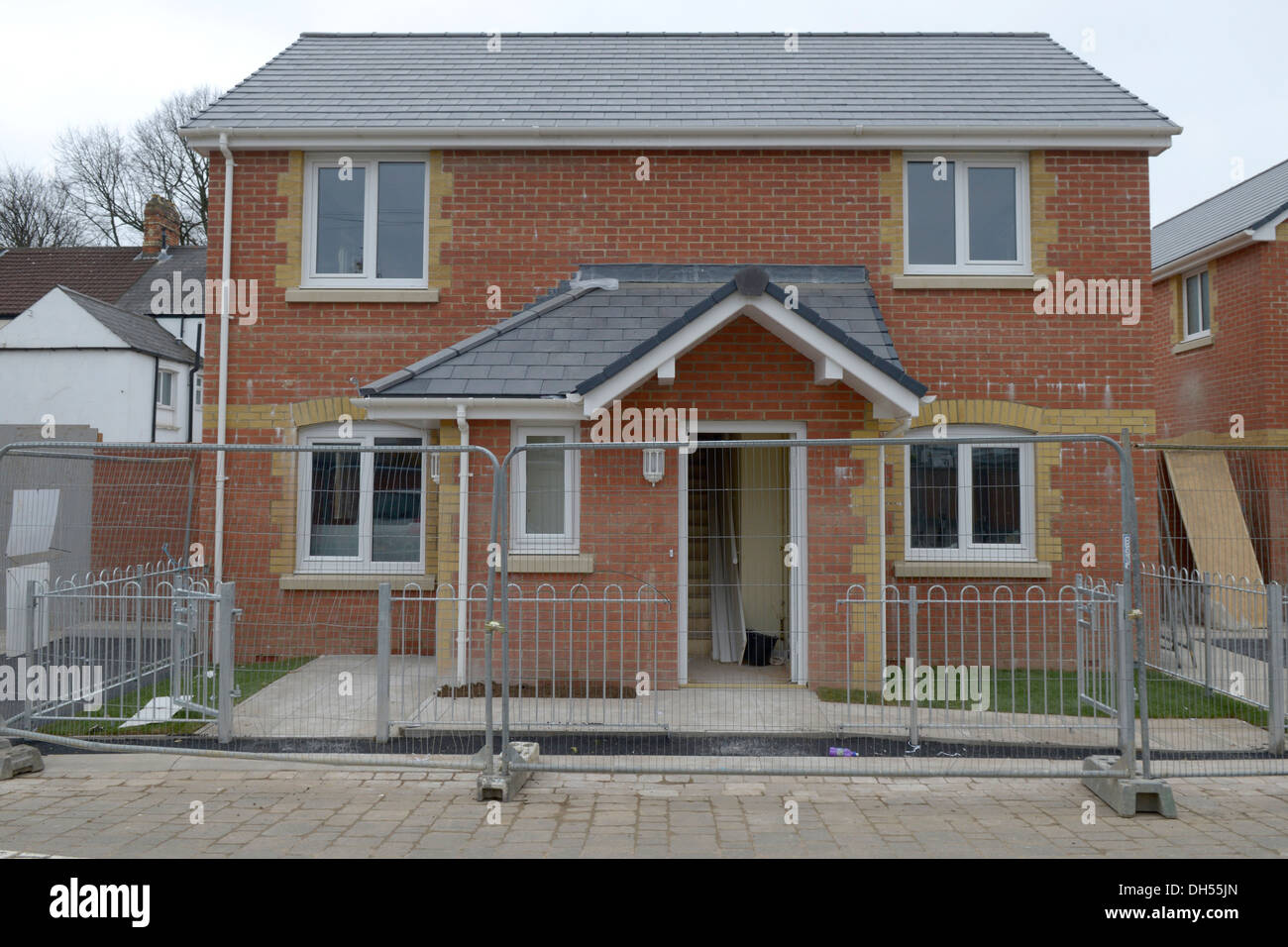 Housing Development In Adamsdown Cardiff Small Affordable Homes