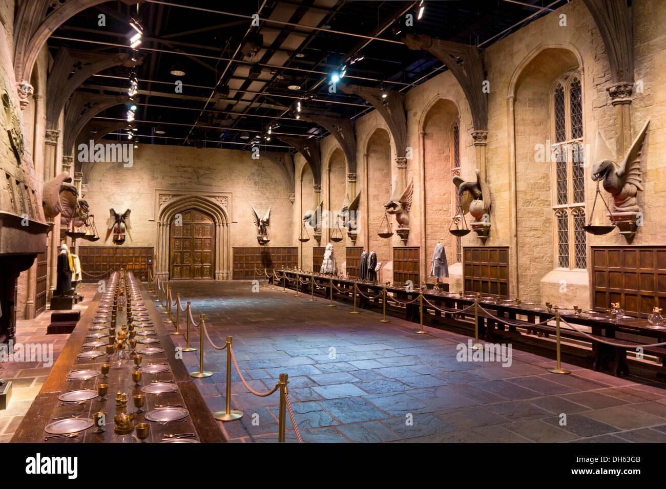 100 Hogwarts Dining Hall Harry Potter Museum London