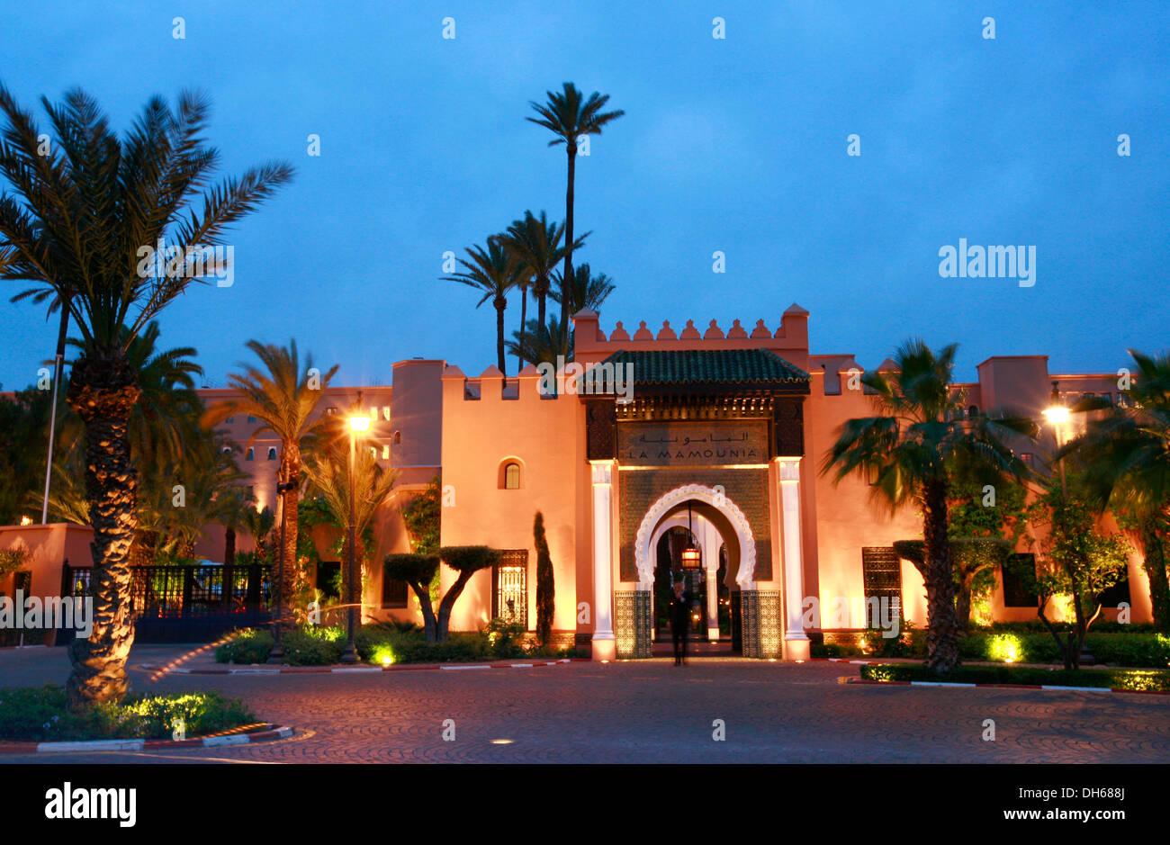 La mamounia luxury hotel marrakech morocco africa