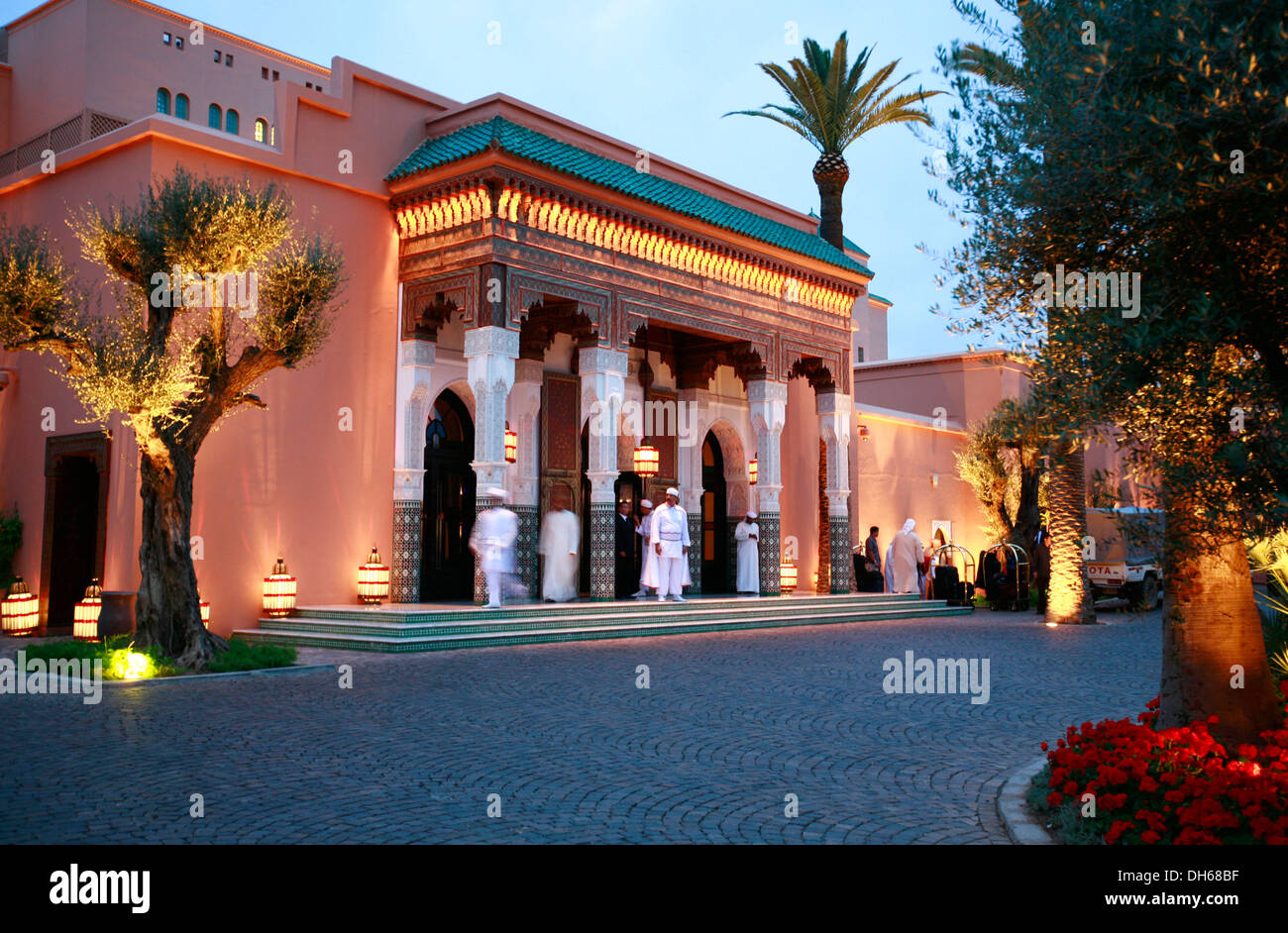 la mamounia luxury hotel marrakech morocco africa stock photo royalty free image 62218563. Black Bedroom Furniture Sets. Home Design Ideas