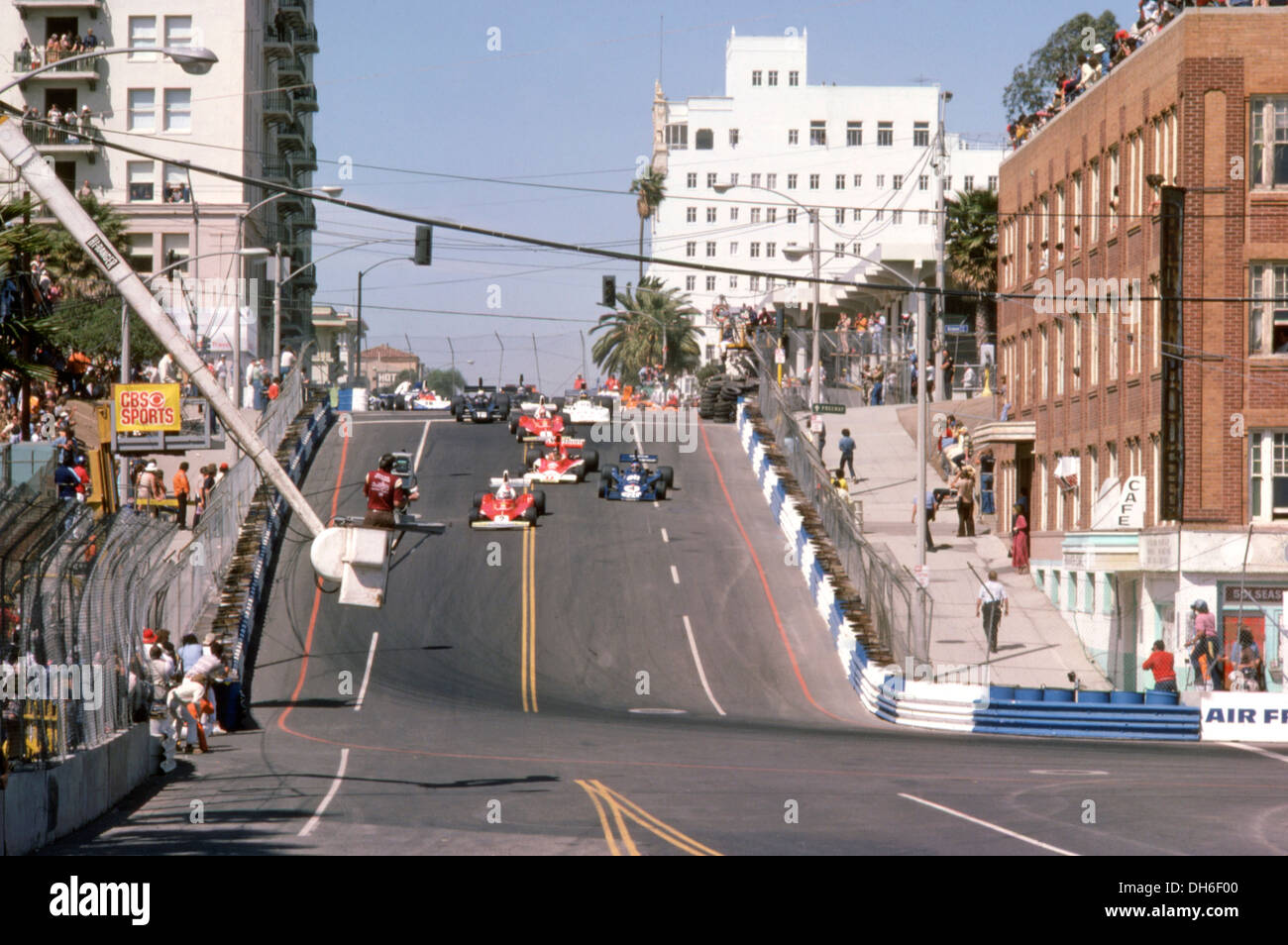 Formula 1 Cars Racing In The Us Gp West Long Beach Usa