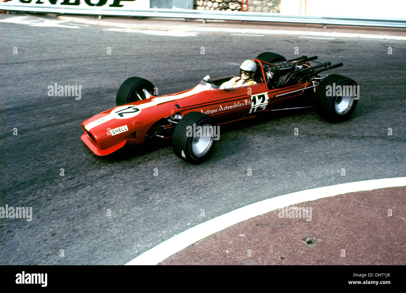 Vic elford in the cooper maserati t686b finished 7th monaco gp 18 may 1969