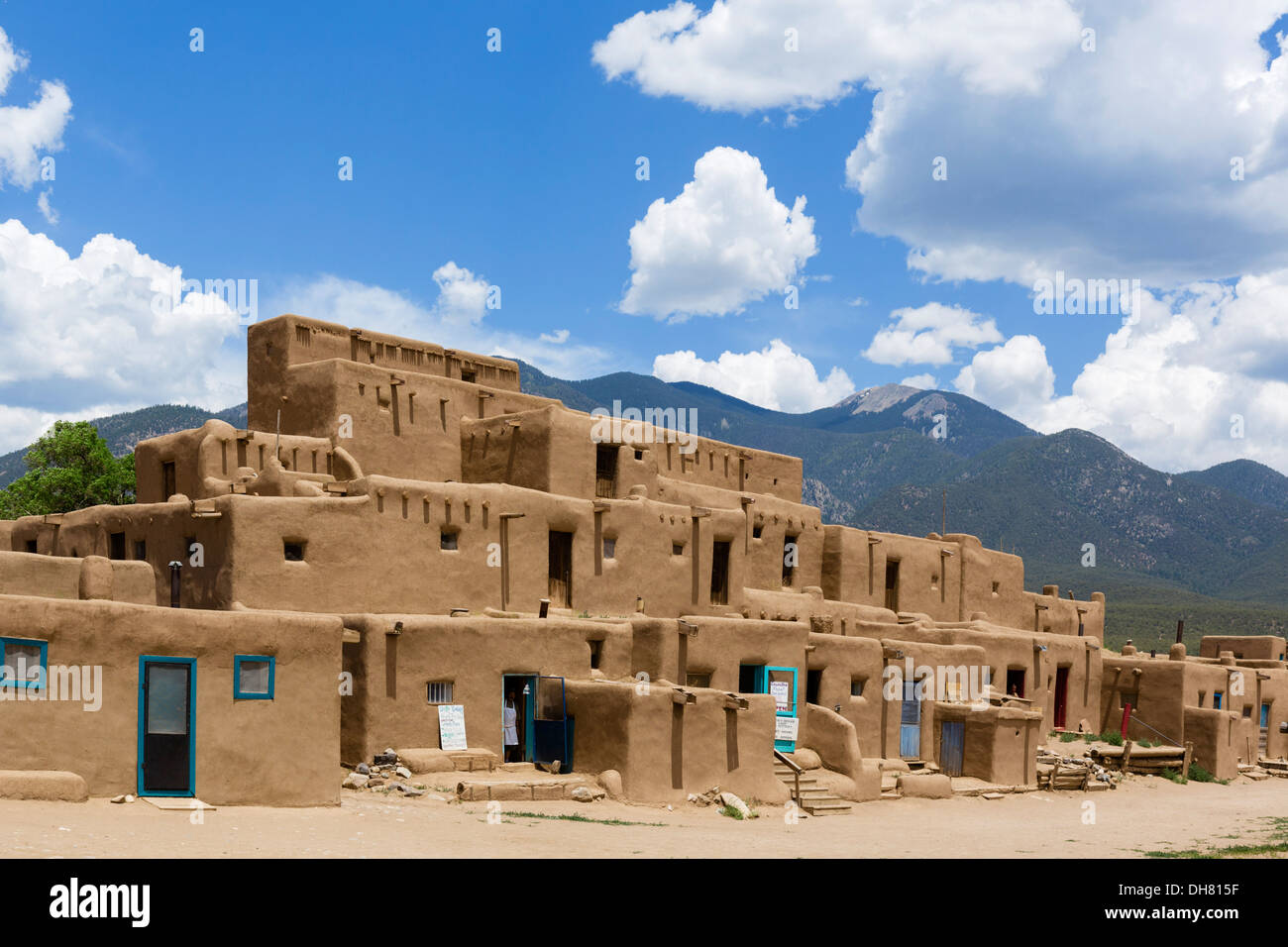 The Hlaauma (North House) native american dwellings in historic ...