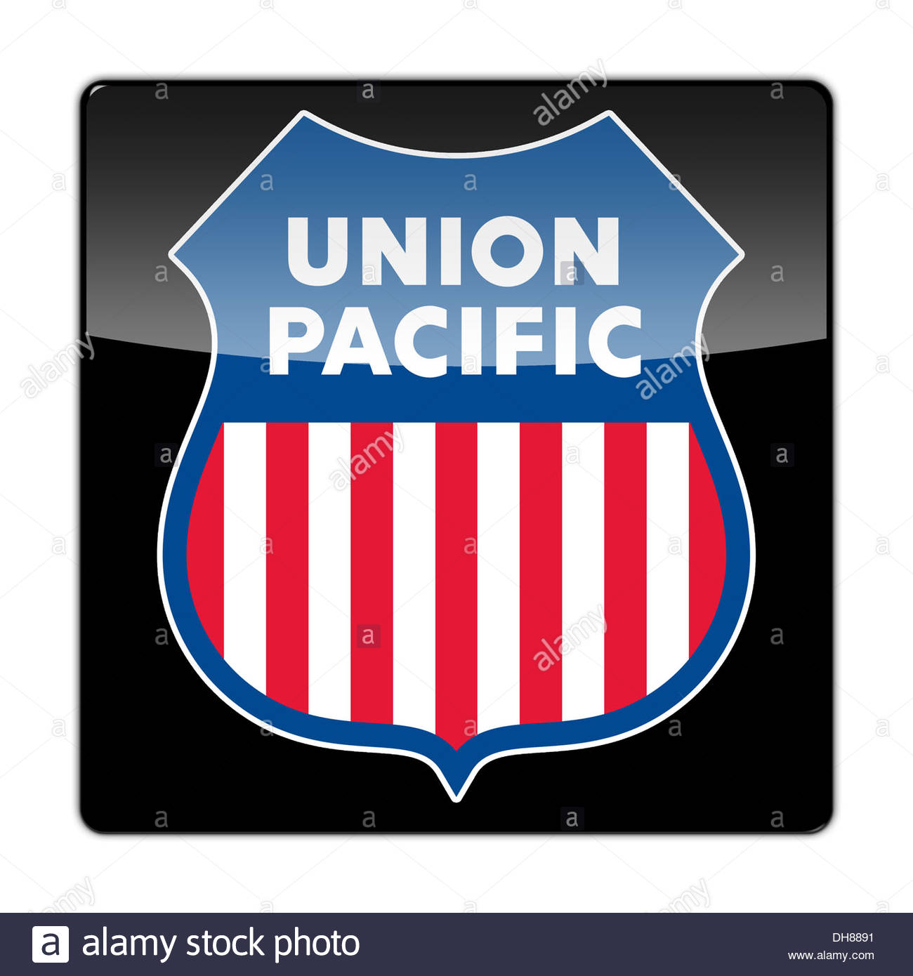 Union pacific railroad icon logo flag sign stock photo royalty union pacific railroad icon logo flag sign biocorpaavc