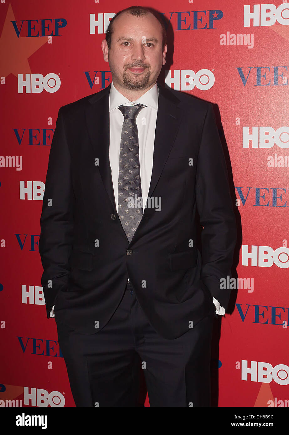 Tony Roche attending a screening of New HBO series Veep at Time